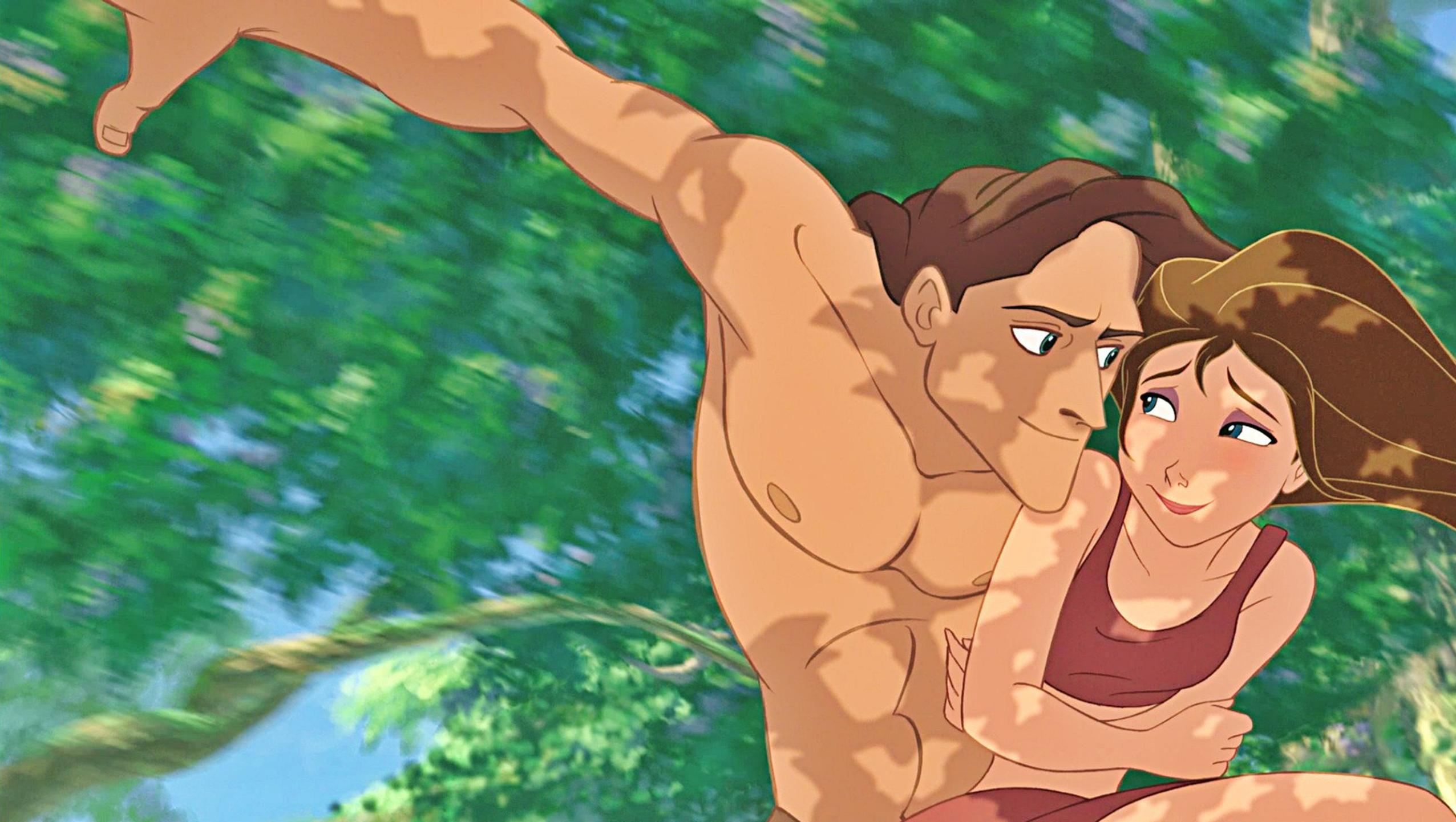 "Wallpaper for ""Tarzan"" (1999)"