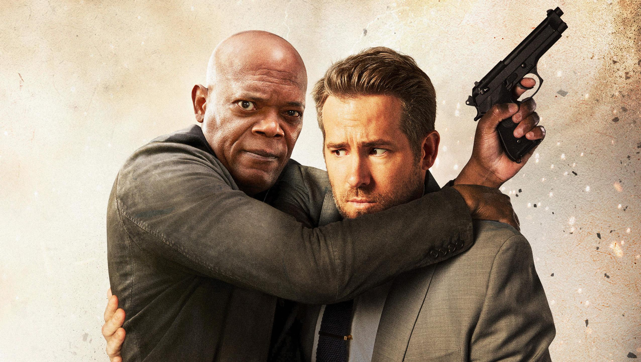 "Wallpaper for ""The Hitman's Bodyguard"" (2017)"