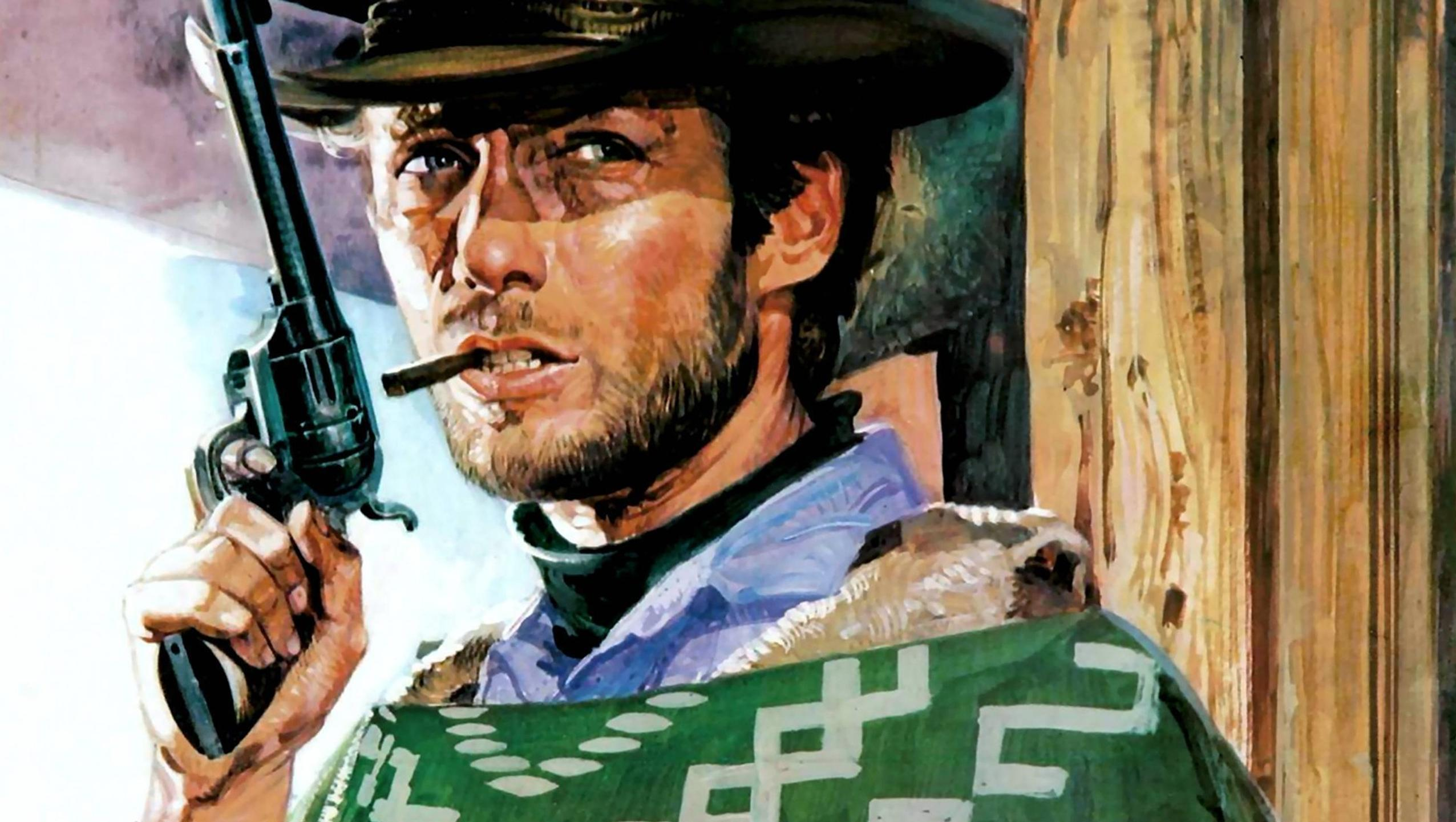 "Wallpaper for ""A Fistful of Dollars"" (1964)"