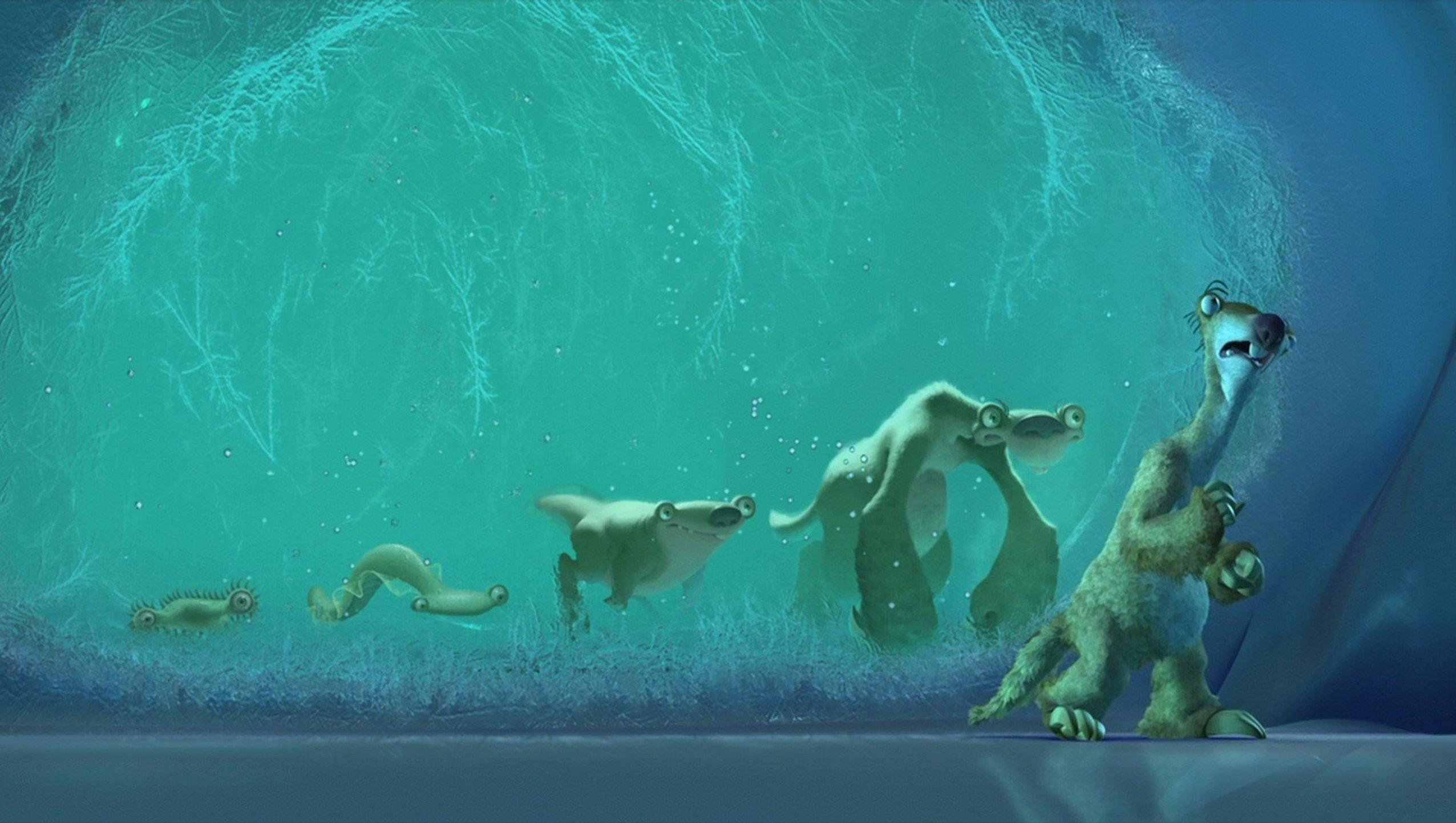 "Wallpaper for ""Ice Age"" (2002)"