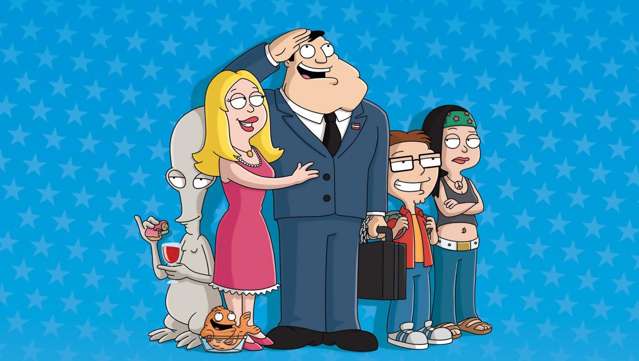 "Wallpaper for ""American Dad!"" (2020)"