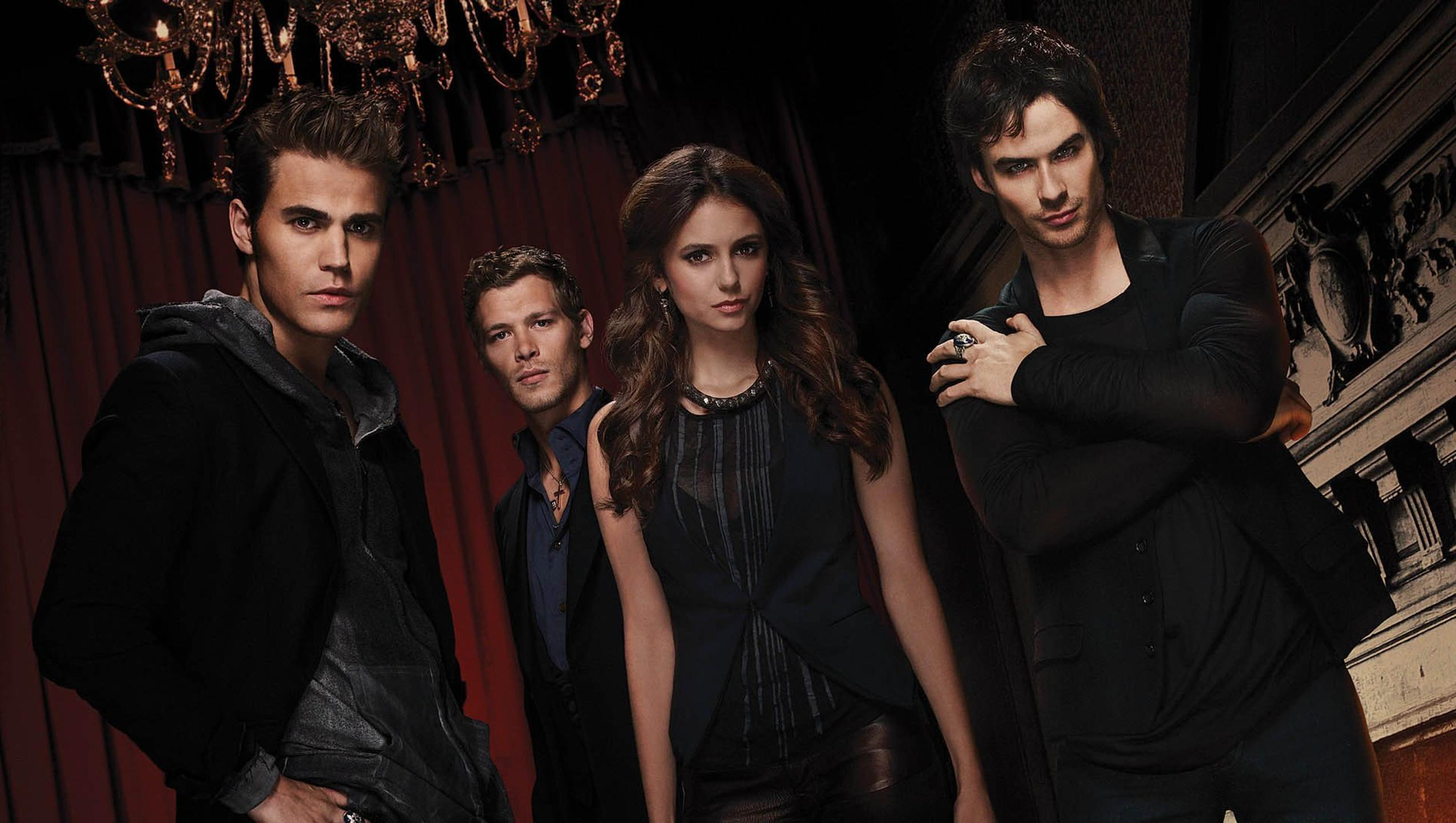 "Wallpaper for ""The Vampire Diaries"" (2017)"