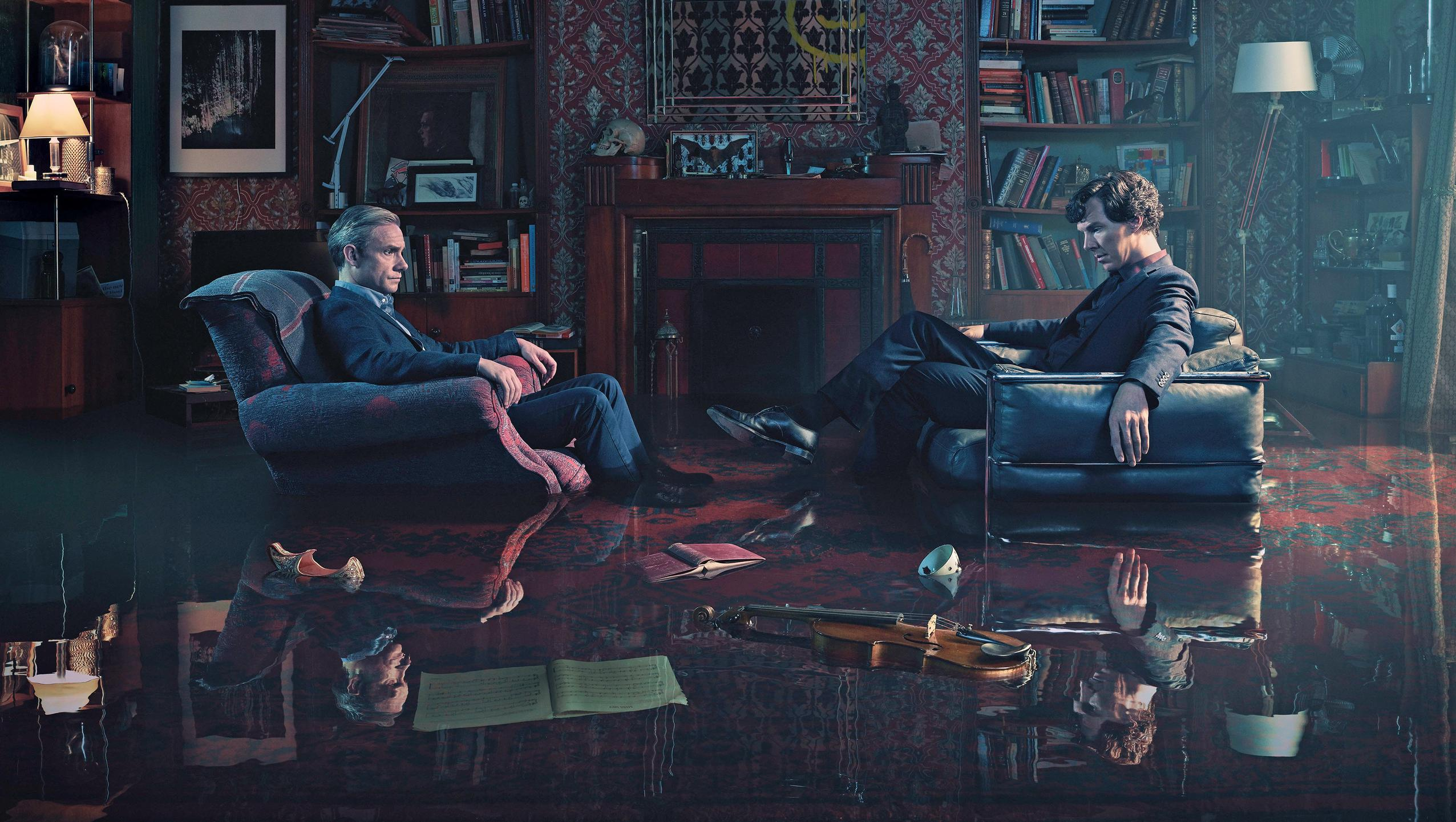 "Wallpaper for ""Sherlock"" (2017)"
