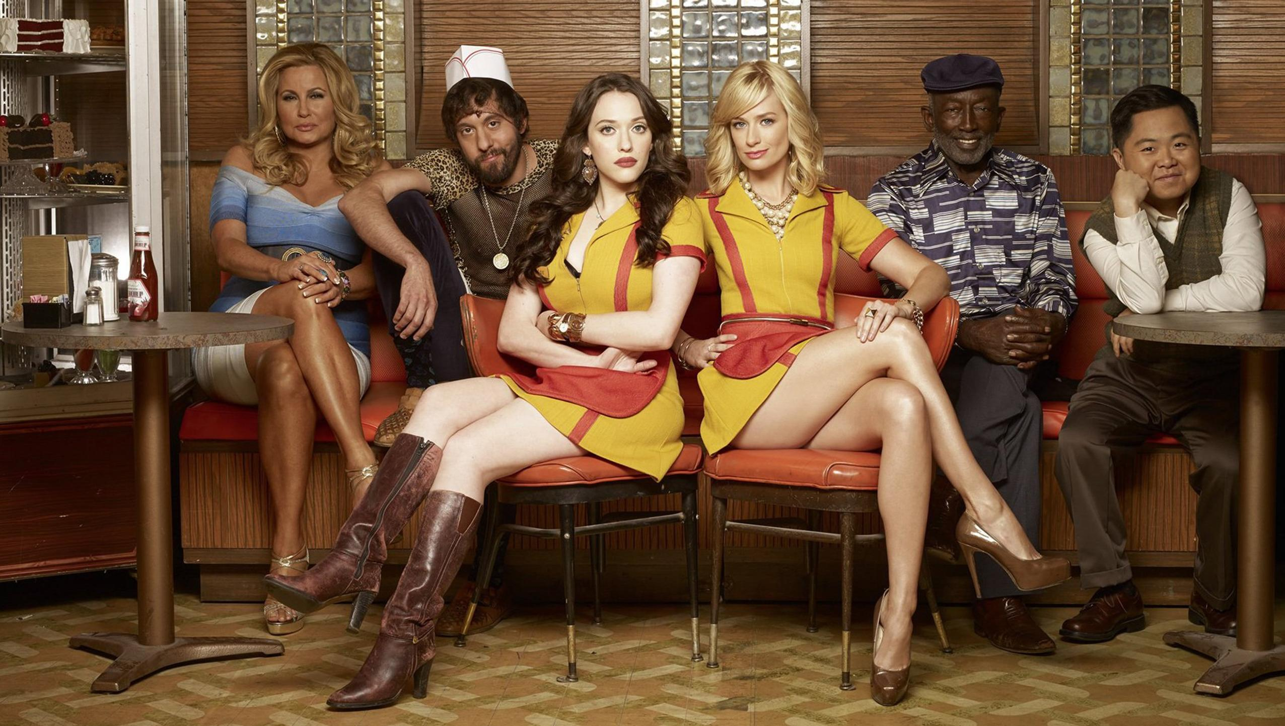 "Wallpaper for ""2 Broke Girls"" (2017)"