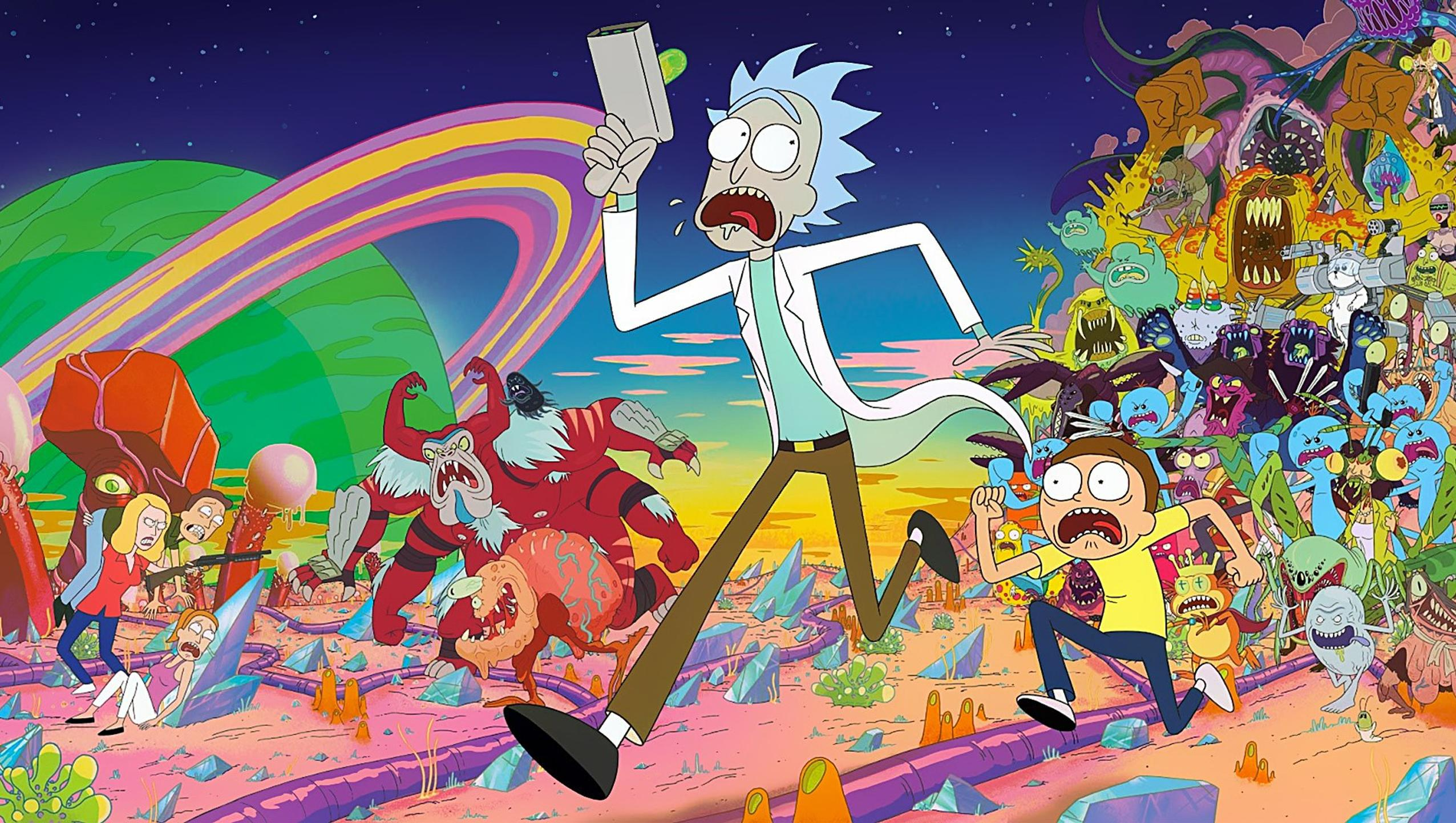 "Wallpaper for ""Rick and Morty"" (2020)"