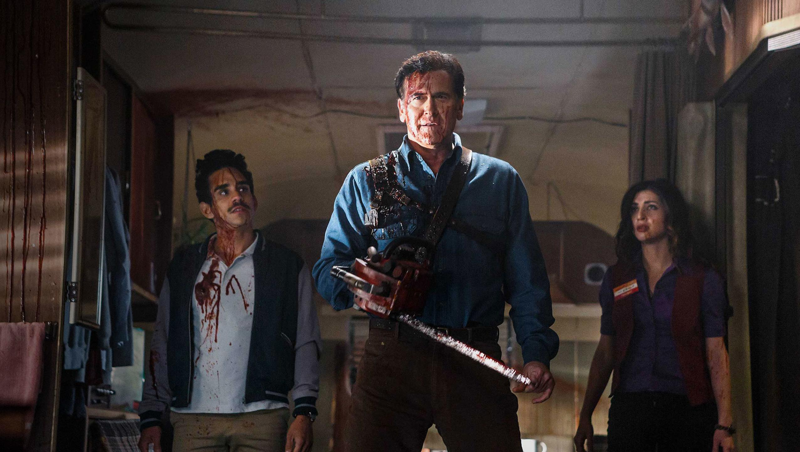 "Wallpaper for ""Ash vs Evil Dead"" (2018)"