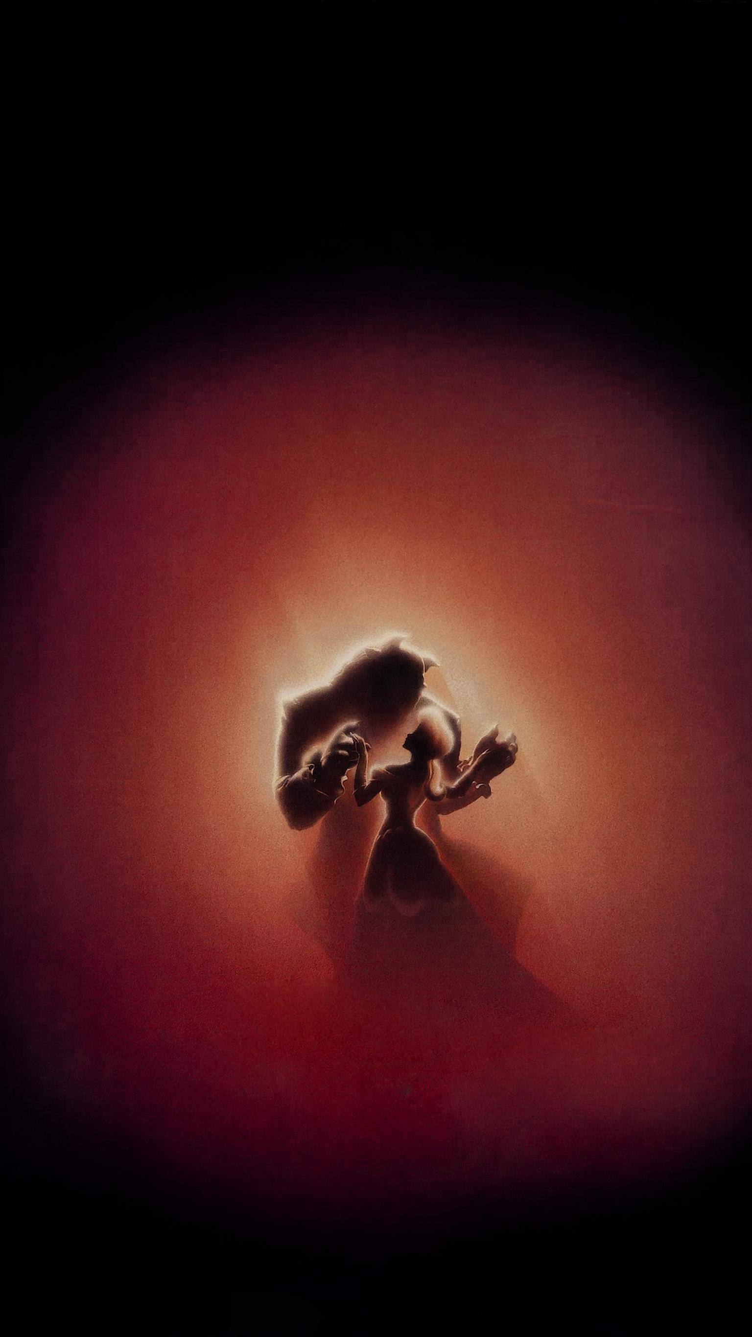 "Wallpaper for ""Beauty and the Beast"" (1991)"