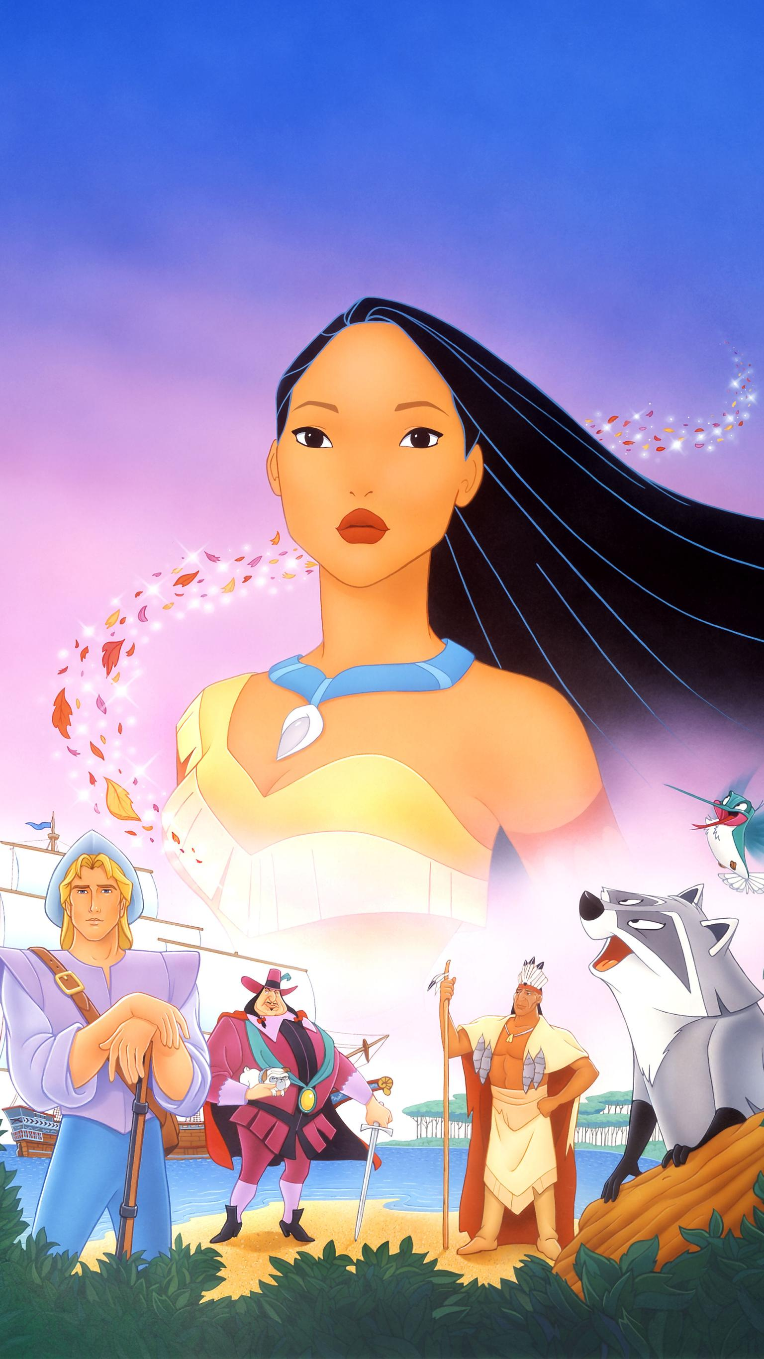 "Wallpaper for ""Pocahontas"" (1995)"