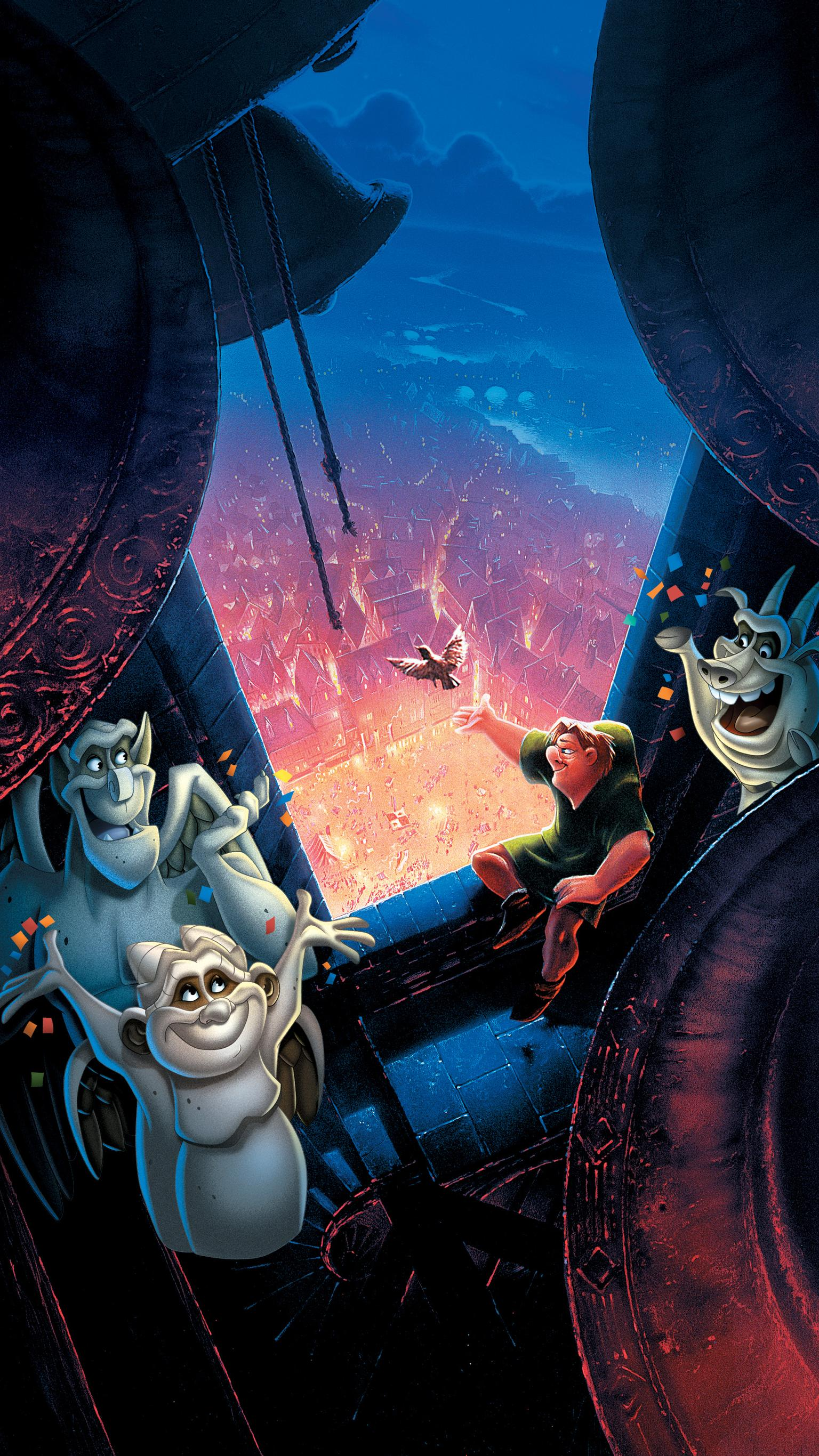 "Wallpaper for ""The Hunchback of Notre Dame"" (1996)"