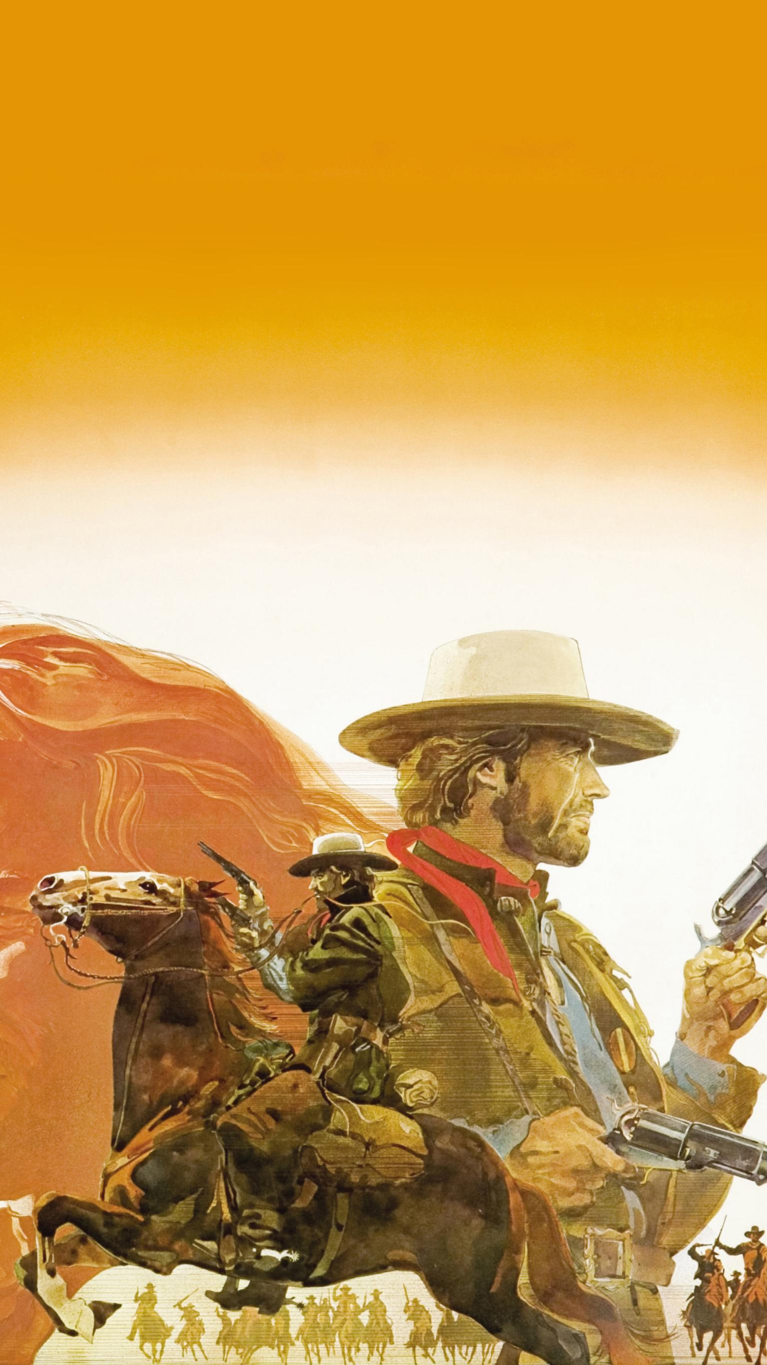 "Wallpaper for ""The Outlaw Josey Wales"" (1976)"