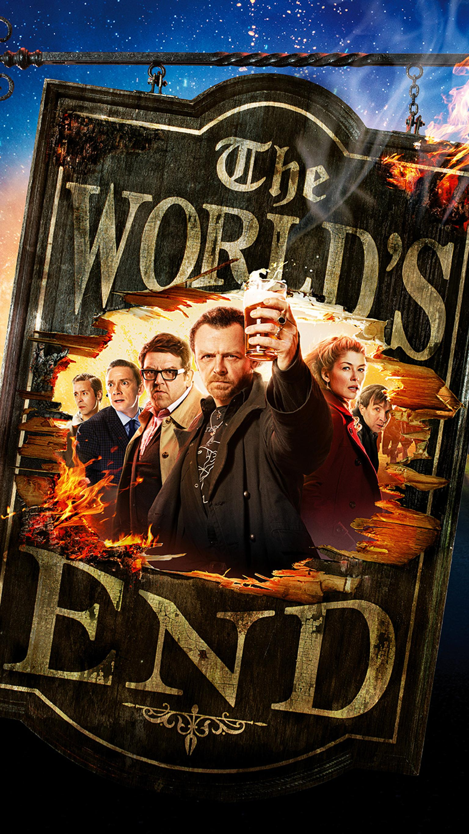 "Wallpaper for ""The World's End"" (2013)"