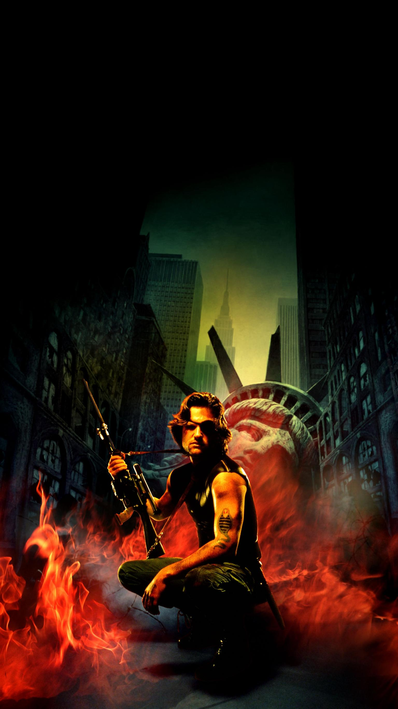 "Wallpaper for ""Escape from New York"" (1981)"