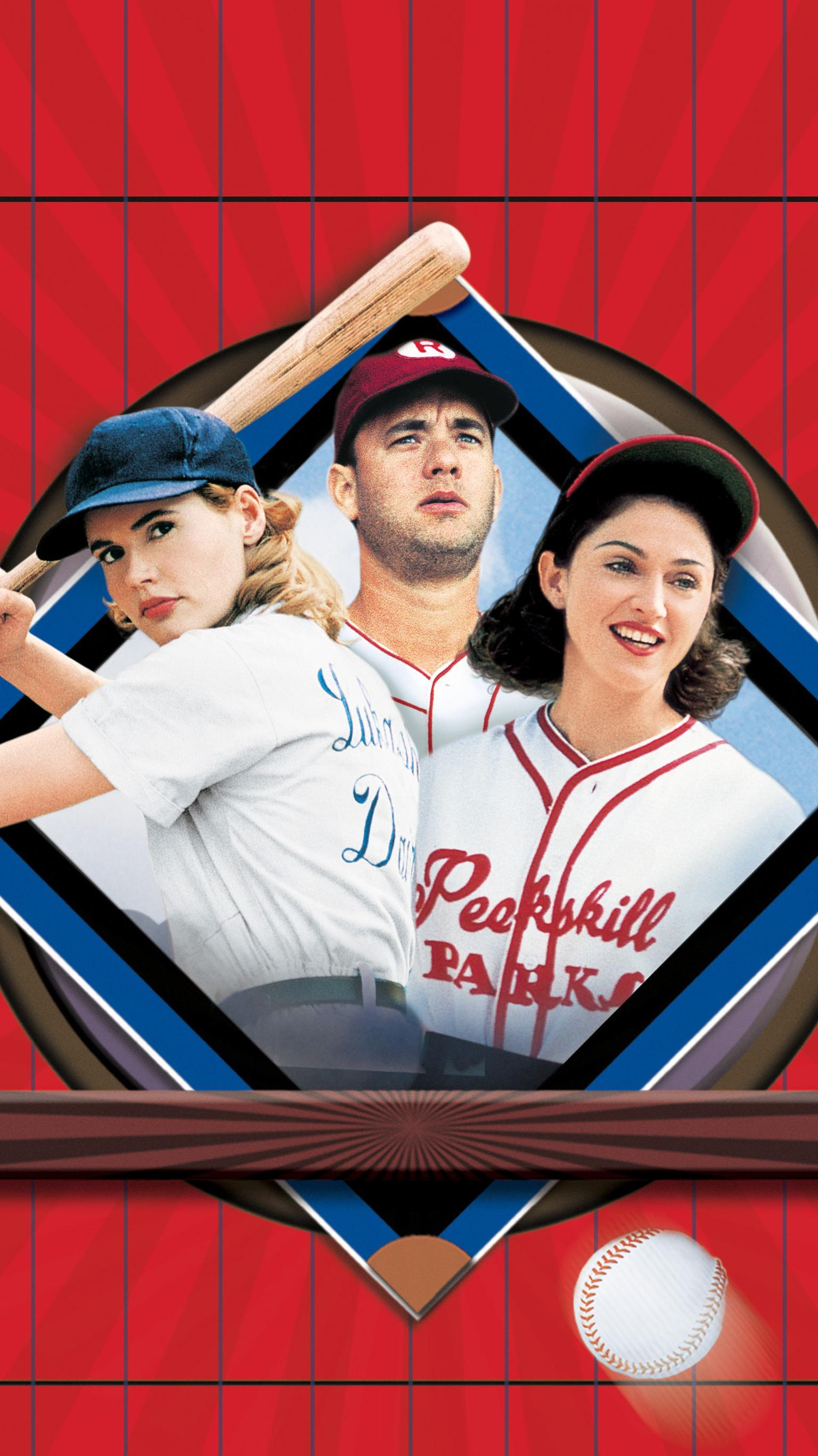 "Wallpaper for ""A League of Their Own"" (1992)"