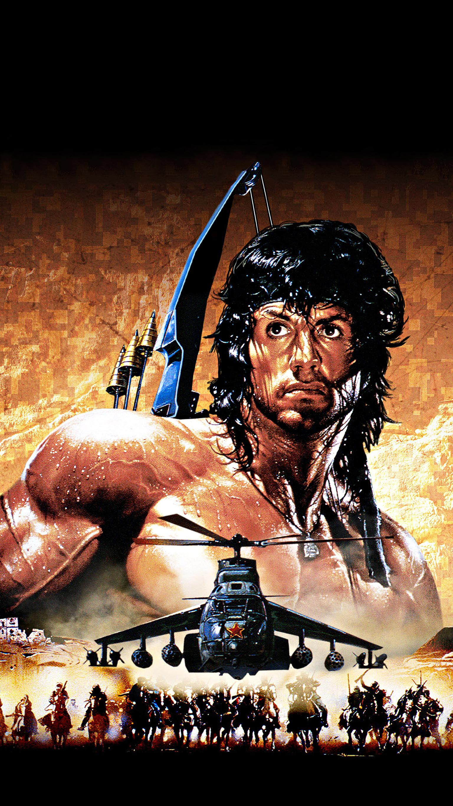 "Wallpaper for ""Rambo III"" (1988)"