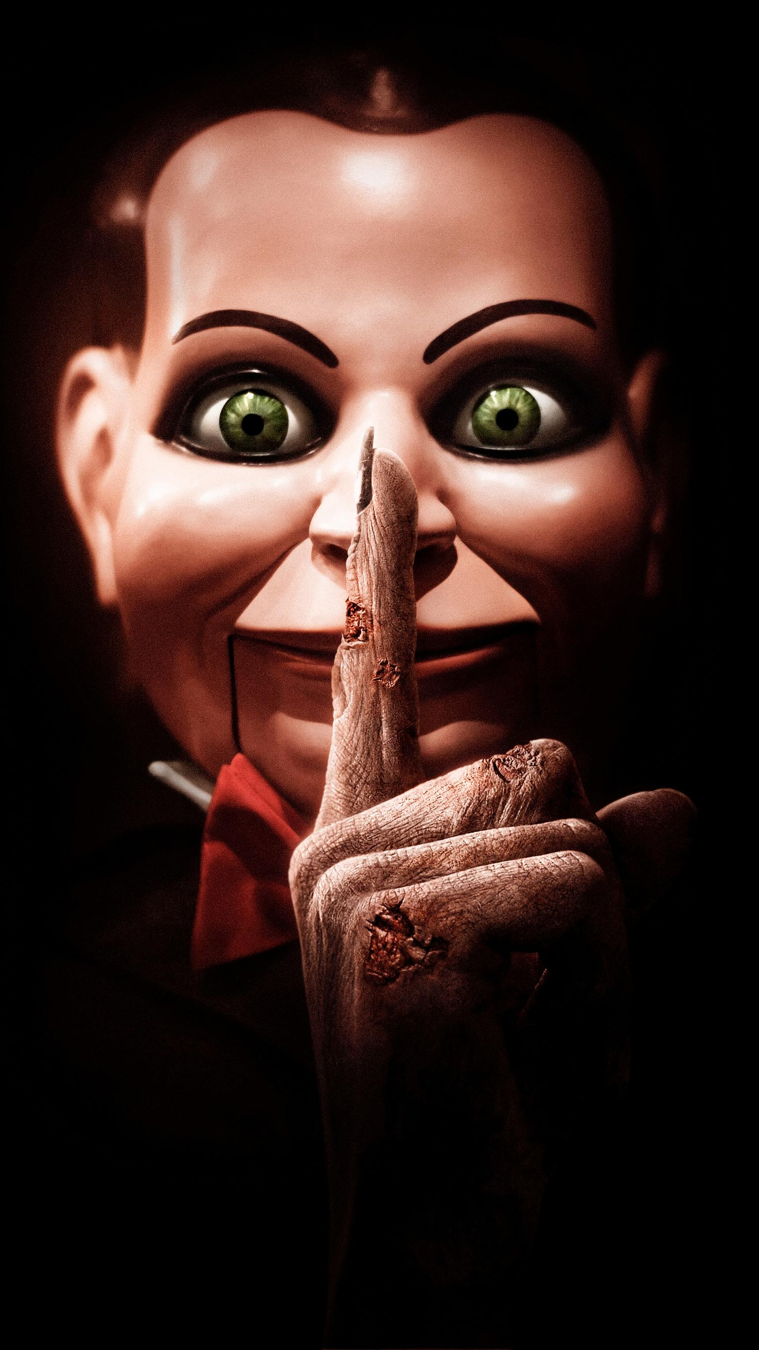 "Wallpaper for ""Dead Silence"" (2007)"