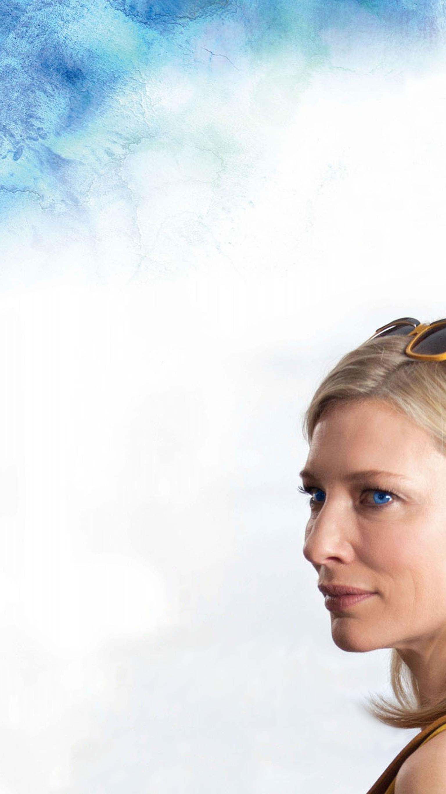 "Wallpaper for ""Blue Jasmine"" (2013)"