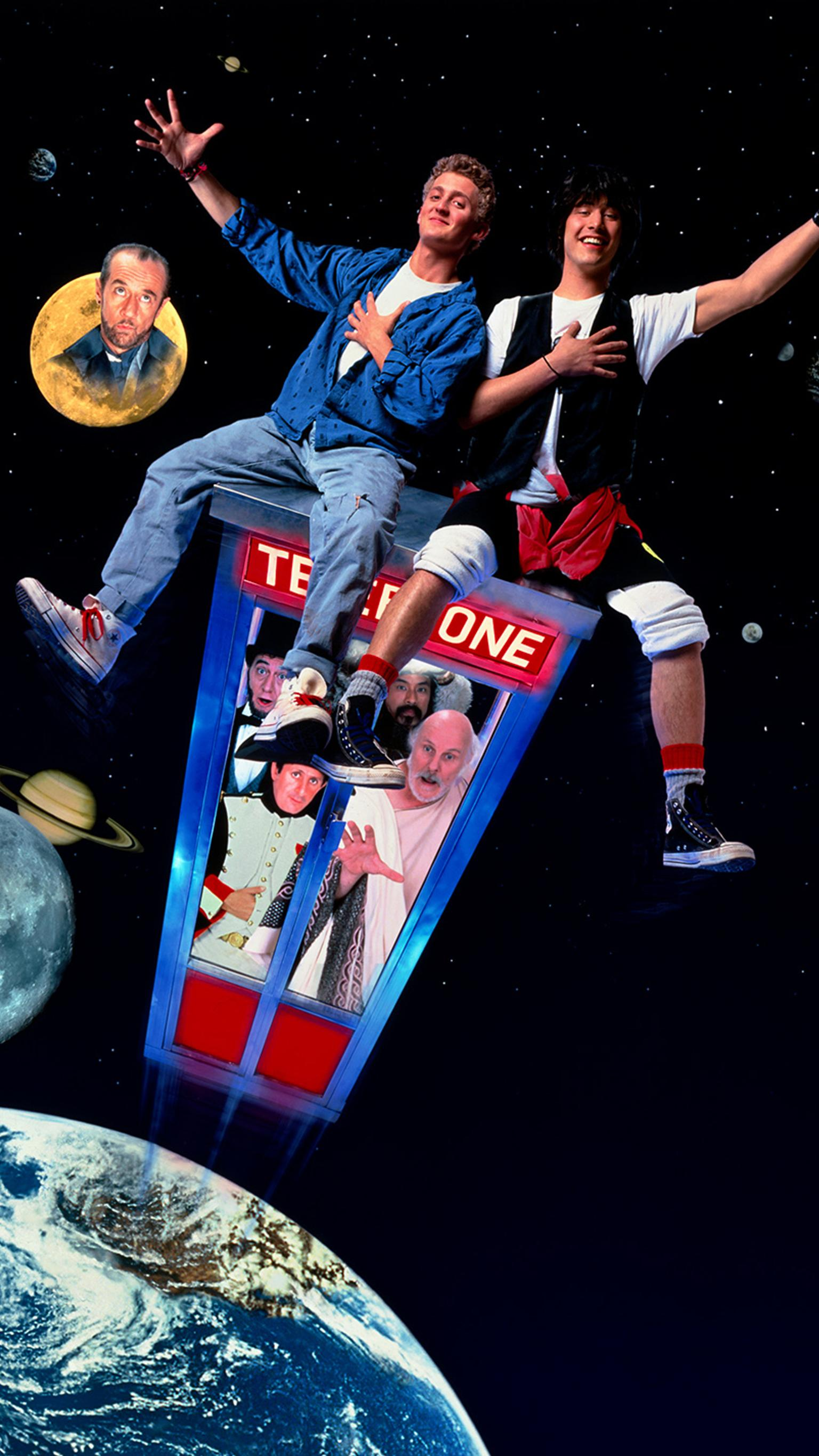 "Wallpaper for ""Bill & Ted's Excellent Adventure"" (1989)"