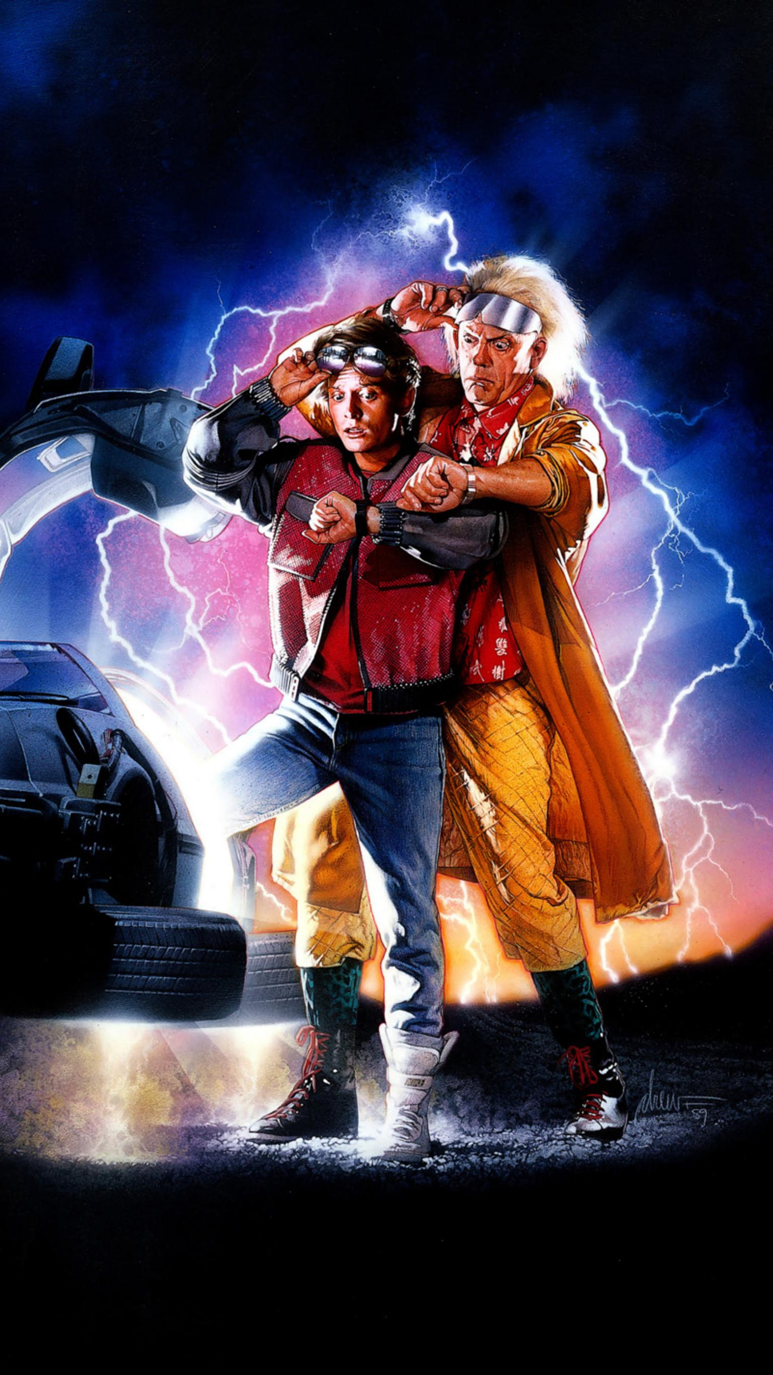 "Wallpaper for ""Back to the Future Part II"" (1989)"