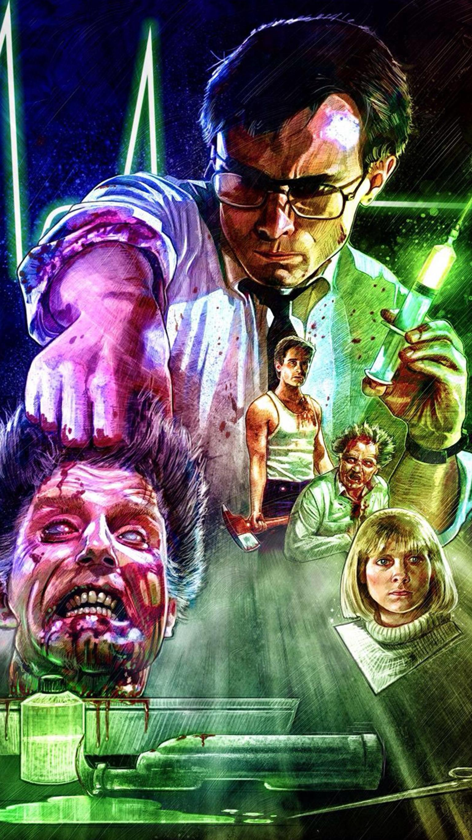 "Wallpaper for ""Re-Animator"" (1985)"