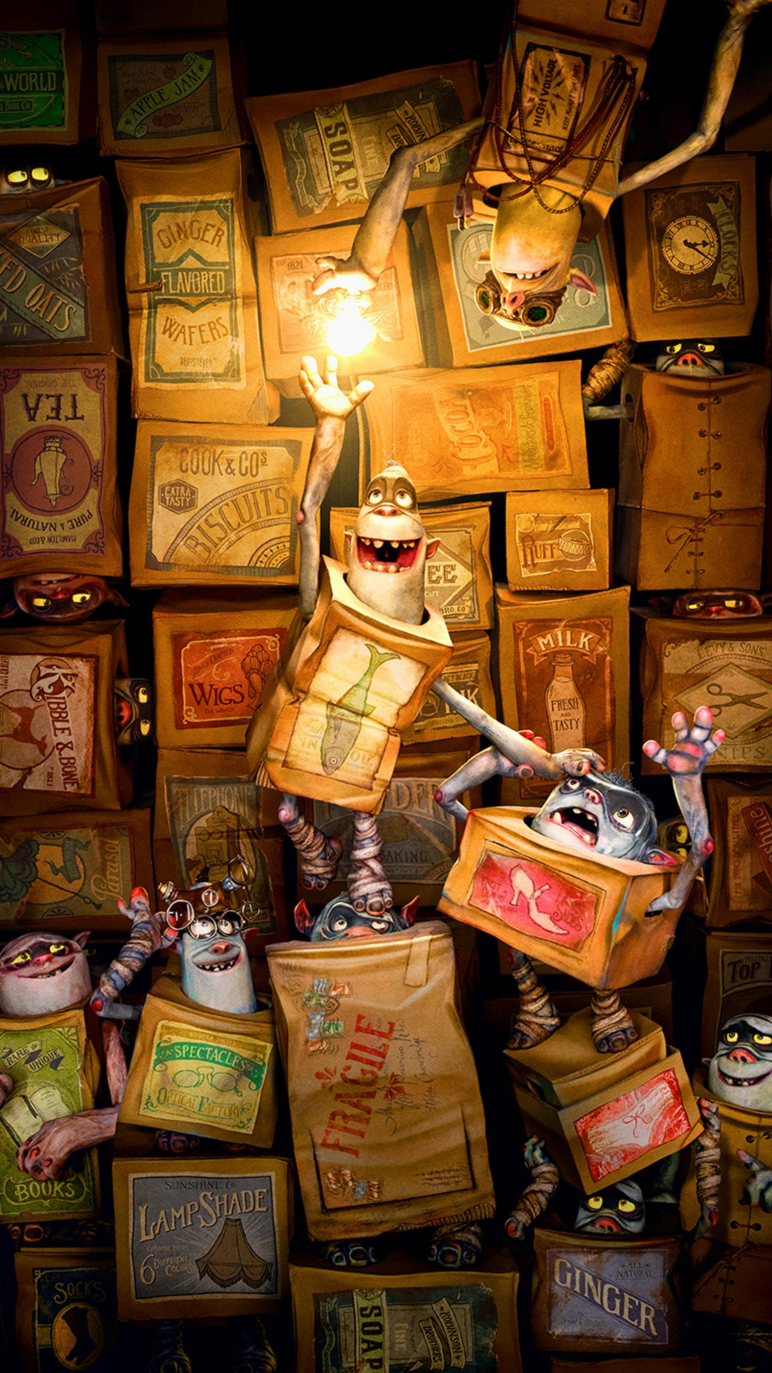 "Wallpaper for ""The Boxtrolls"" (2014)"