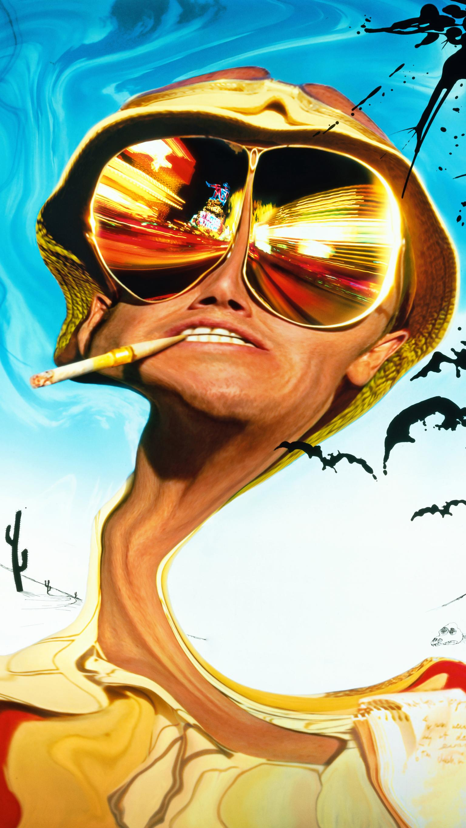 "Wallpaper for ""Fear and Loathing in Las Vegas"" (1998)"