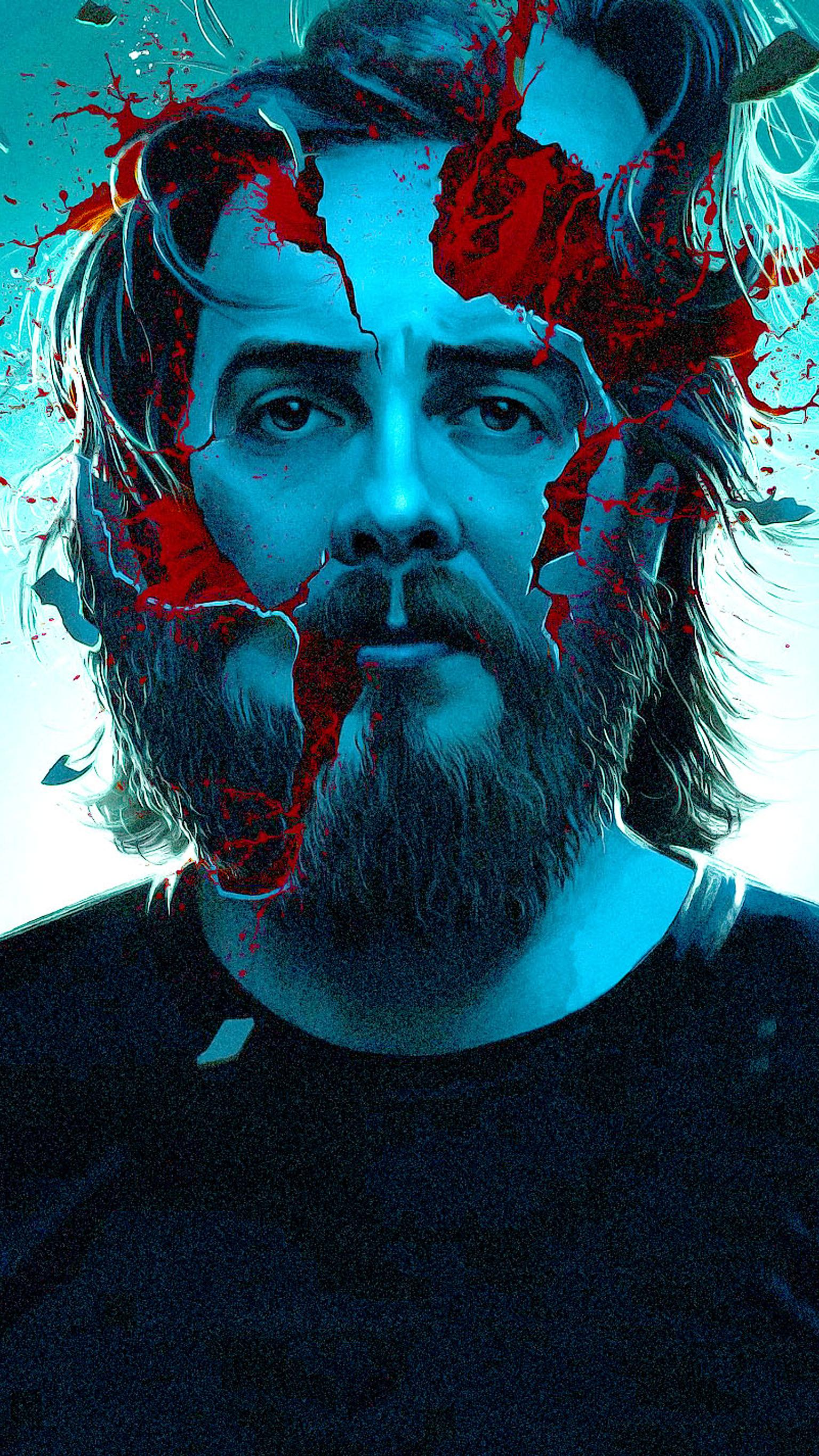 "Wallpaper for ""Blue Ruin"" (2013)"