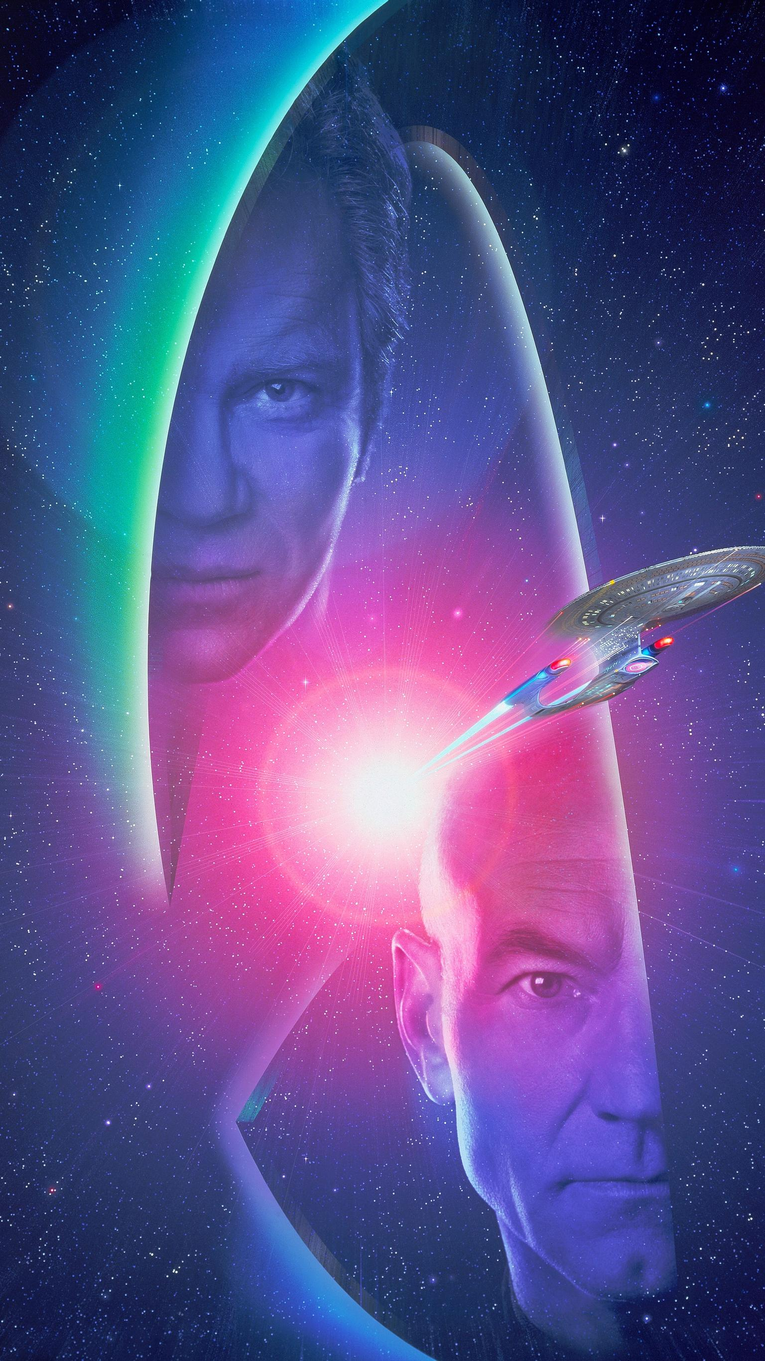 "Wallpaper for ""Star Trek: Generations"" (1994)"