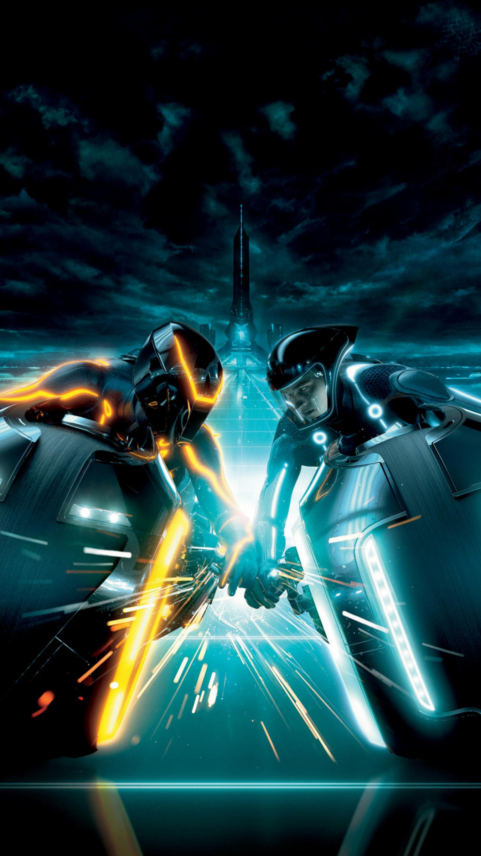 "Wallpaper for ""TRON: Legacy"" (2010)"
