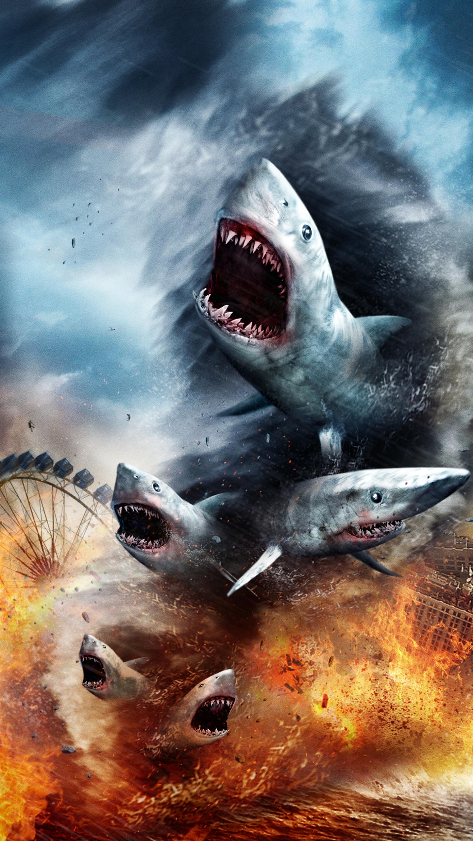 "Wallpaper for ""Sharknado"" (2013)"