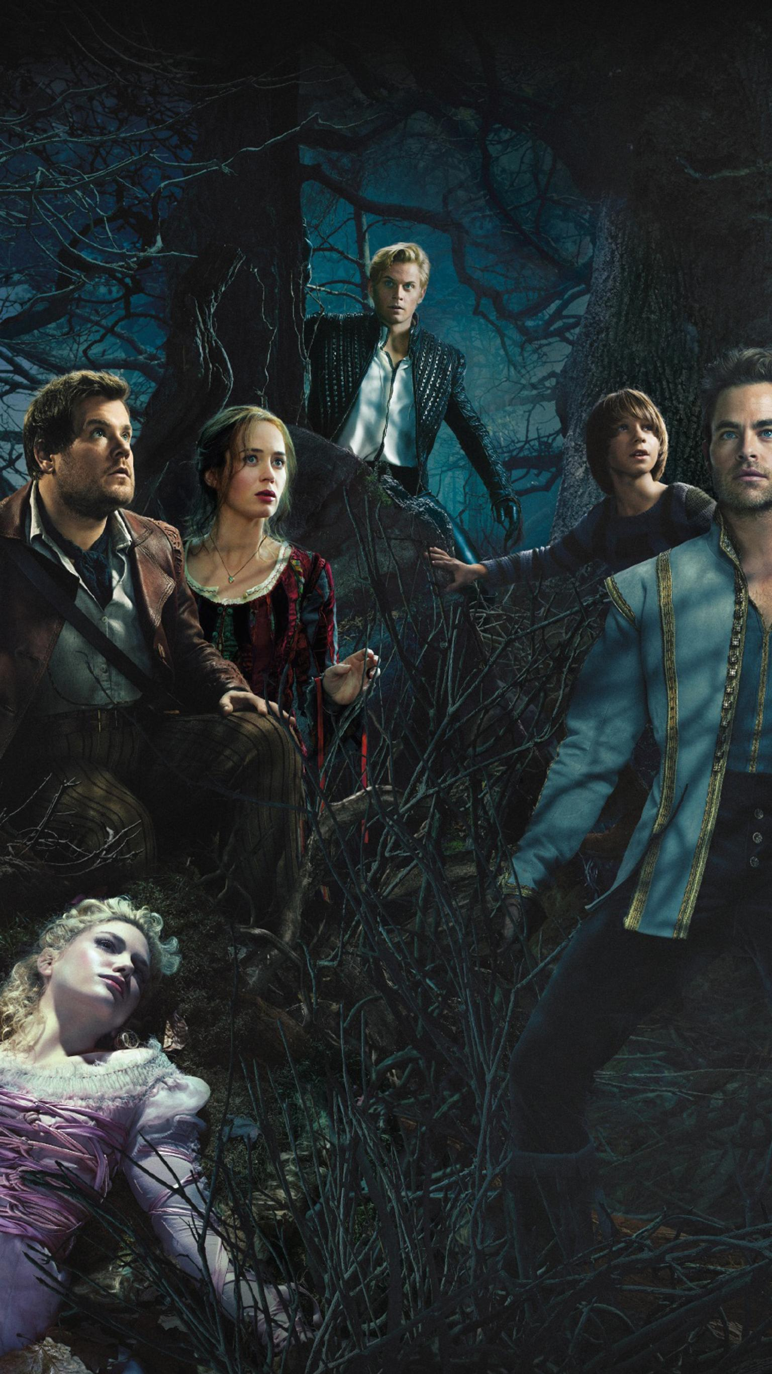 "Wallpaper for ""Into the Woods"" (2014)"