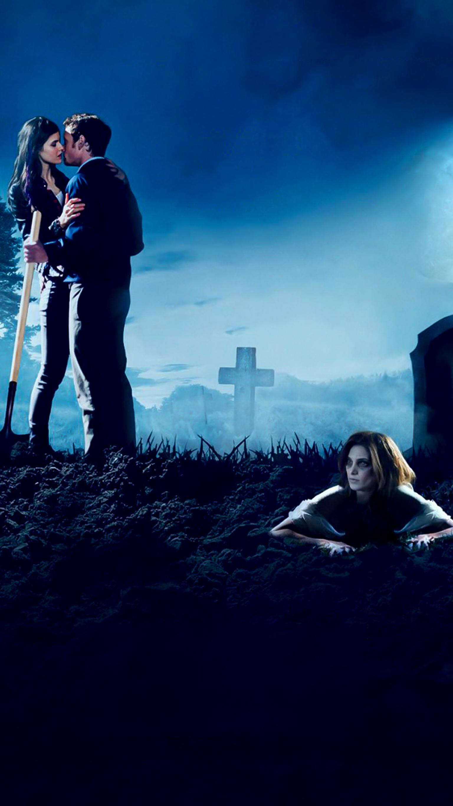 "Wallpaper for ""Burying the Ex"" (2014)"