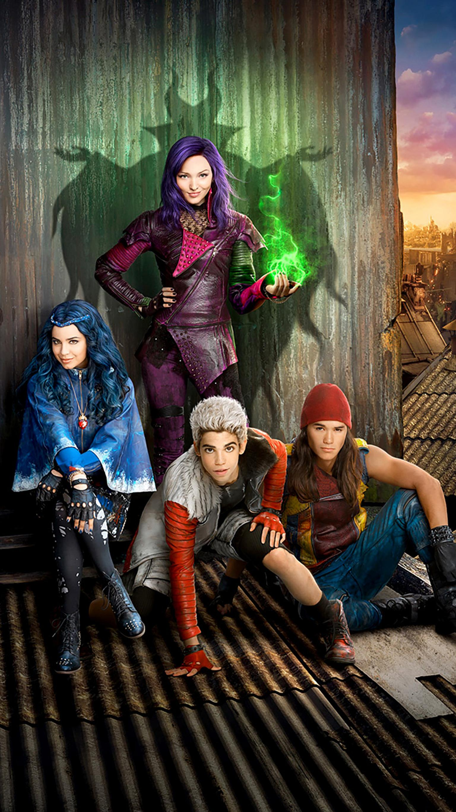 "Wallpaper for ""Descendants"" (2015)"