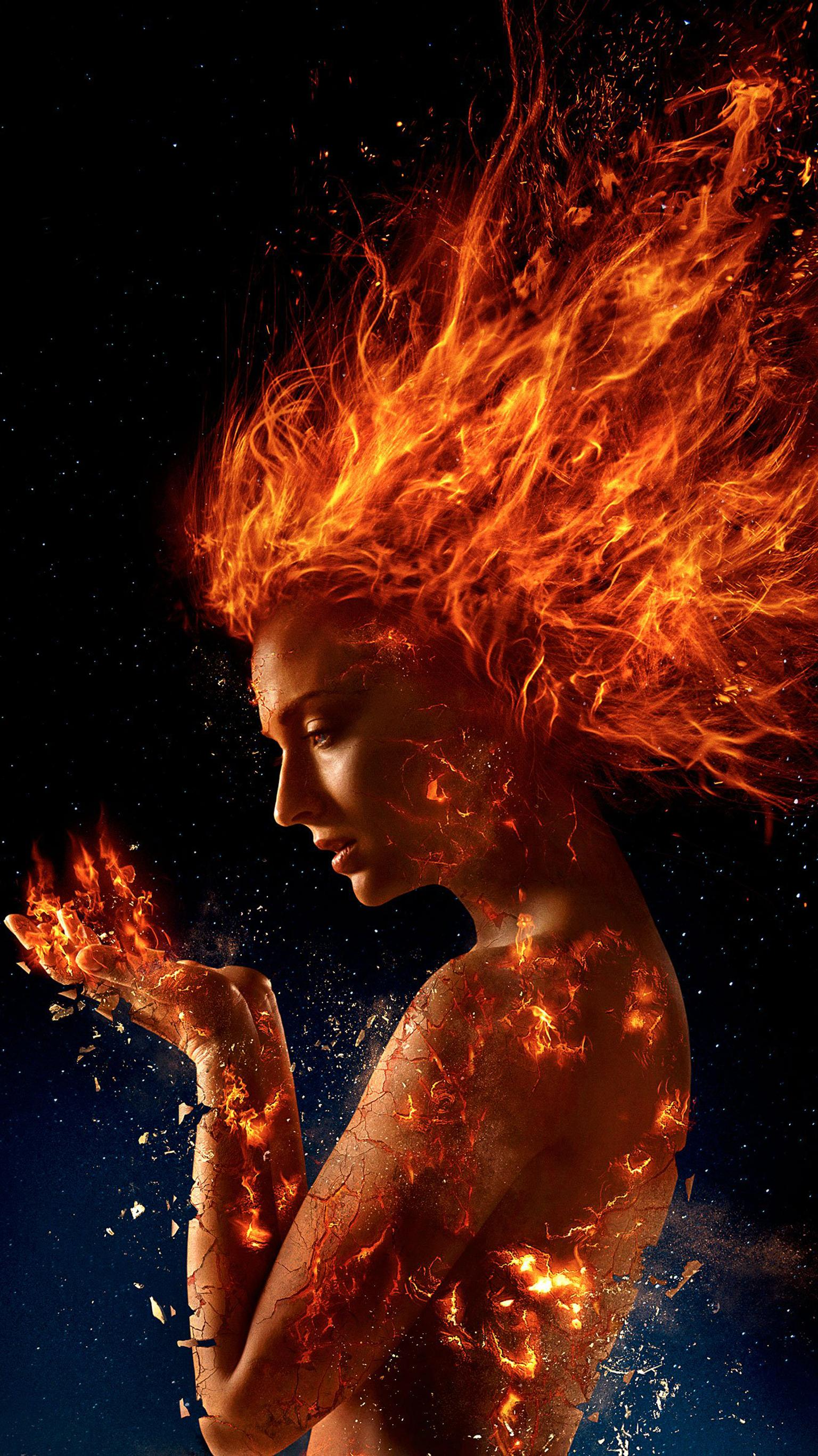 "Wallpaper for ""Dark Phoenix"" (2019)"