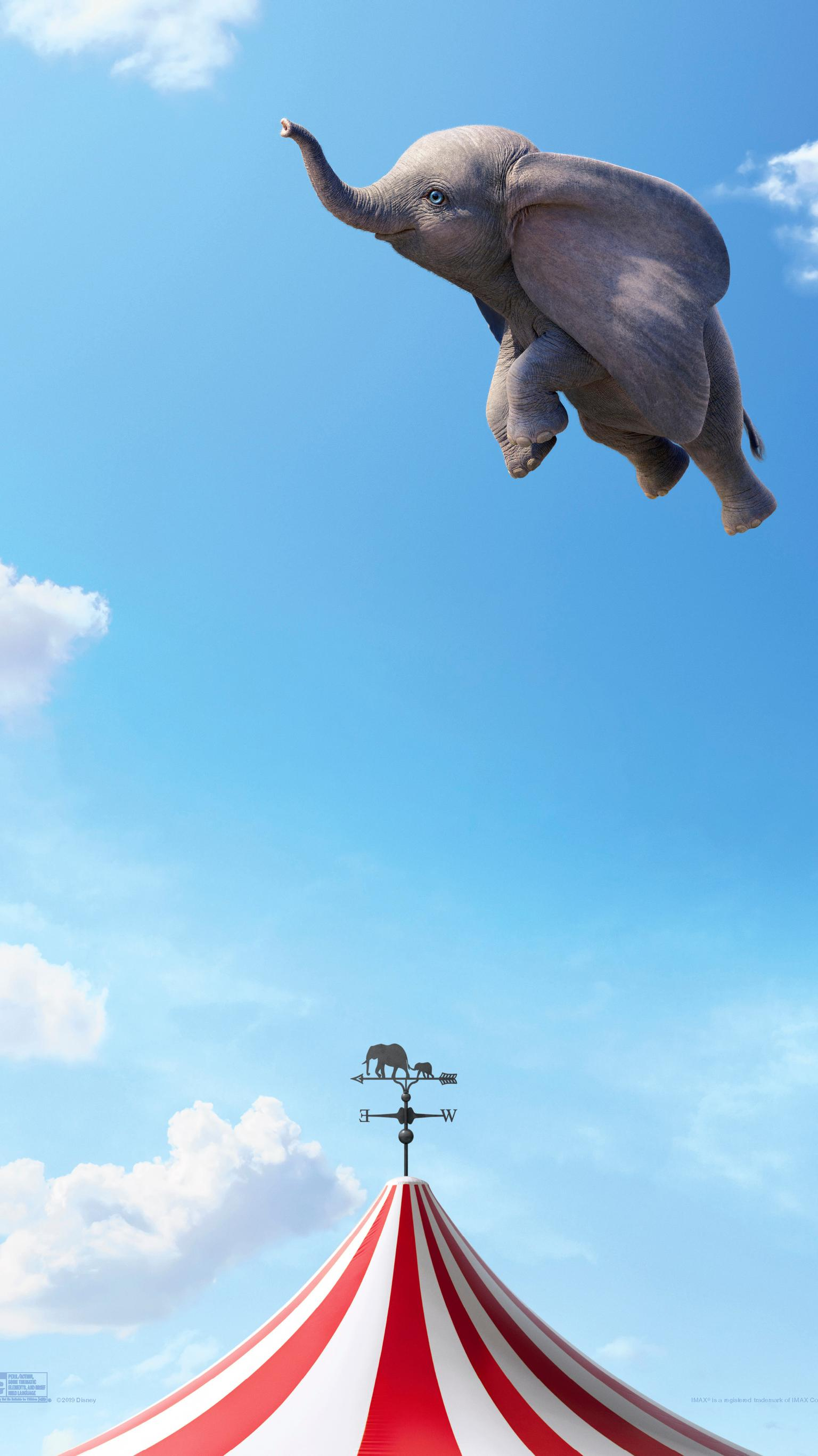 "Wallpaper for ""Dumbo"" (2019)"