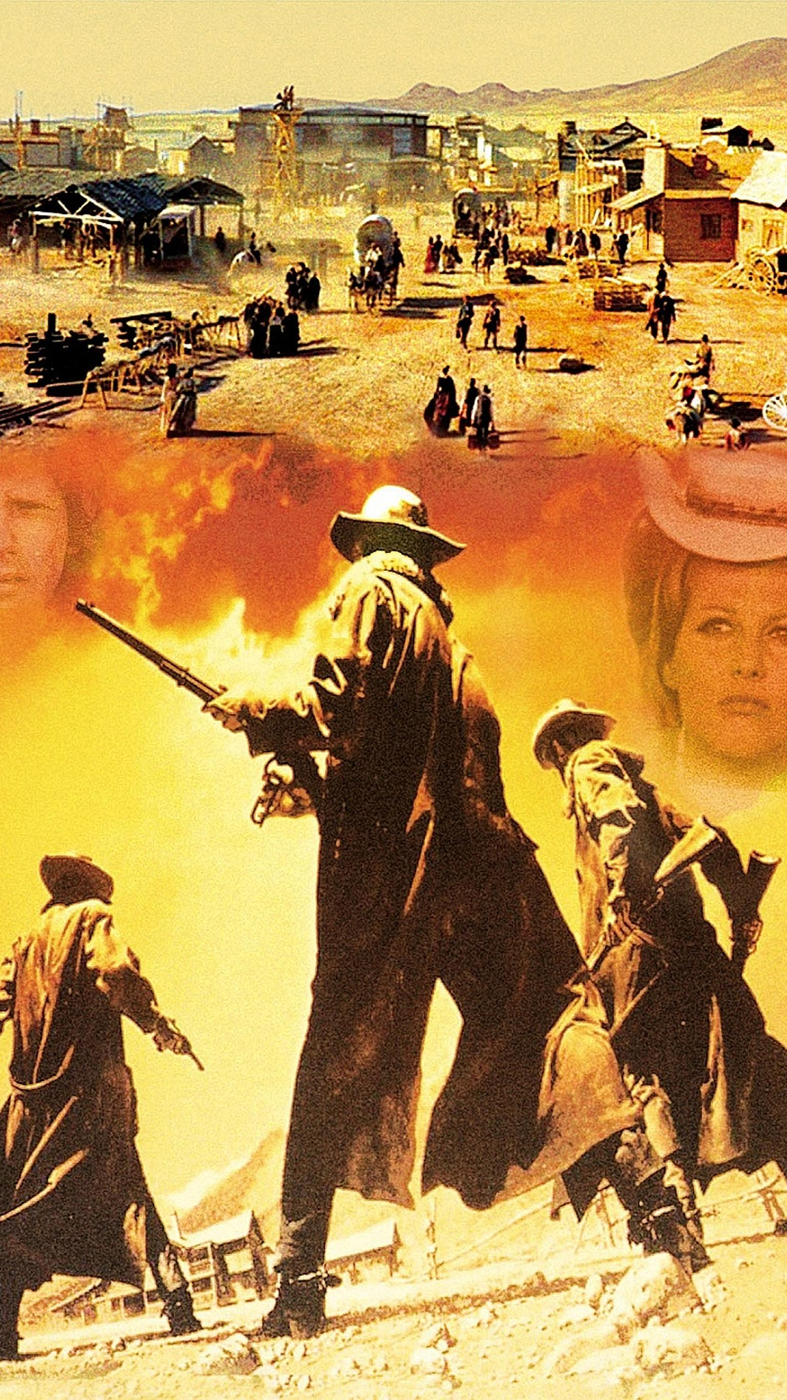 "Wallpaper for ""Once Upon a Time in the West"" (1968)"