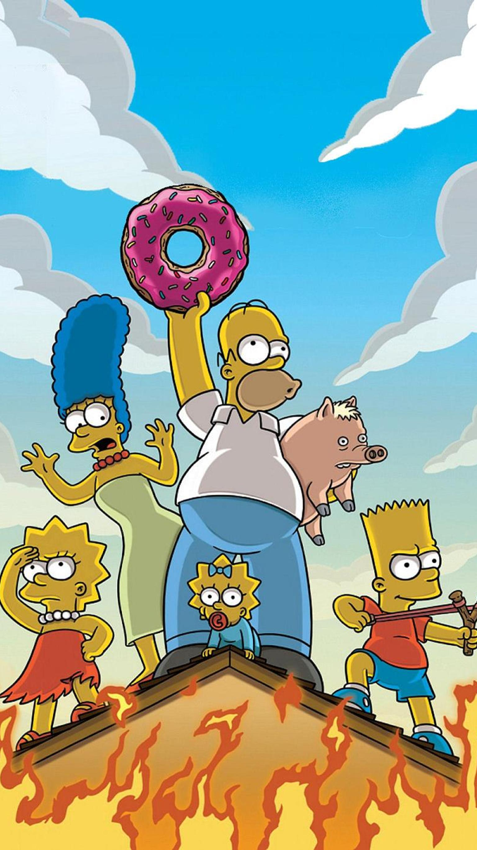 "Wallpaper for ""The Simpsons Movie"" (2007)"