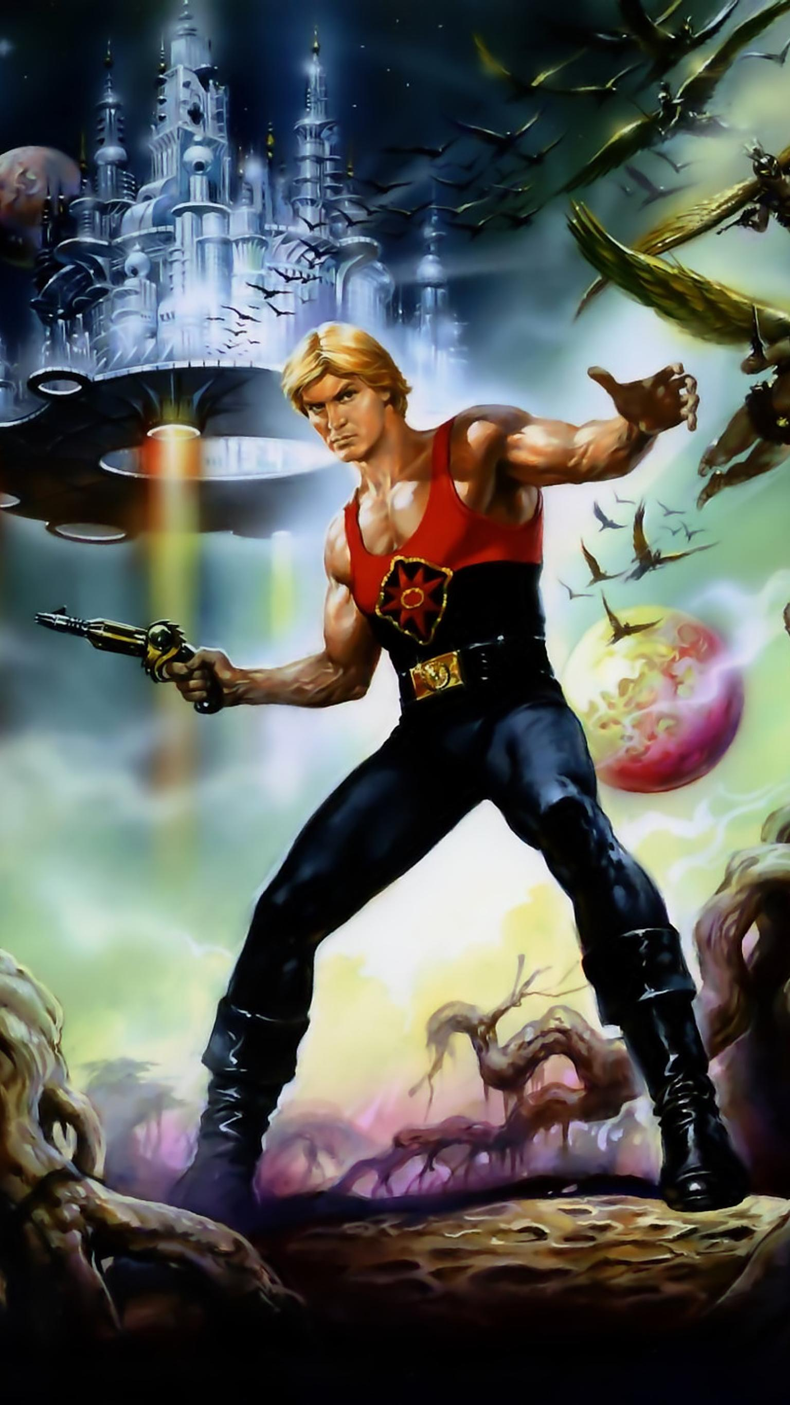"Wallpaper for ""Flash Gordon"" (1980)"