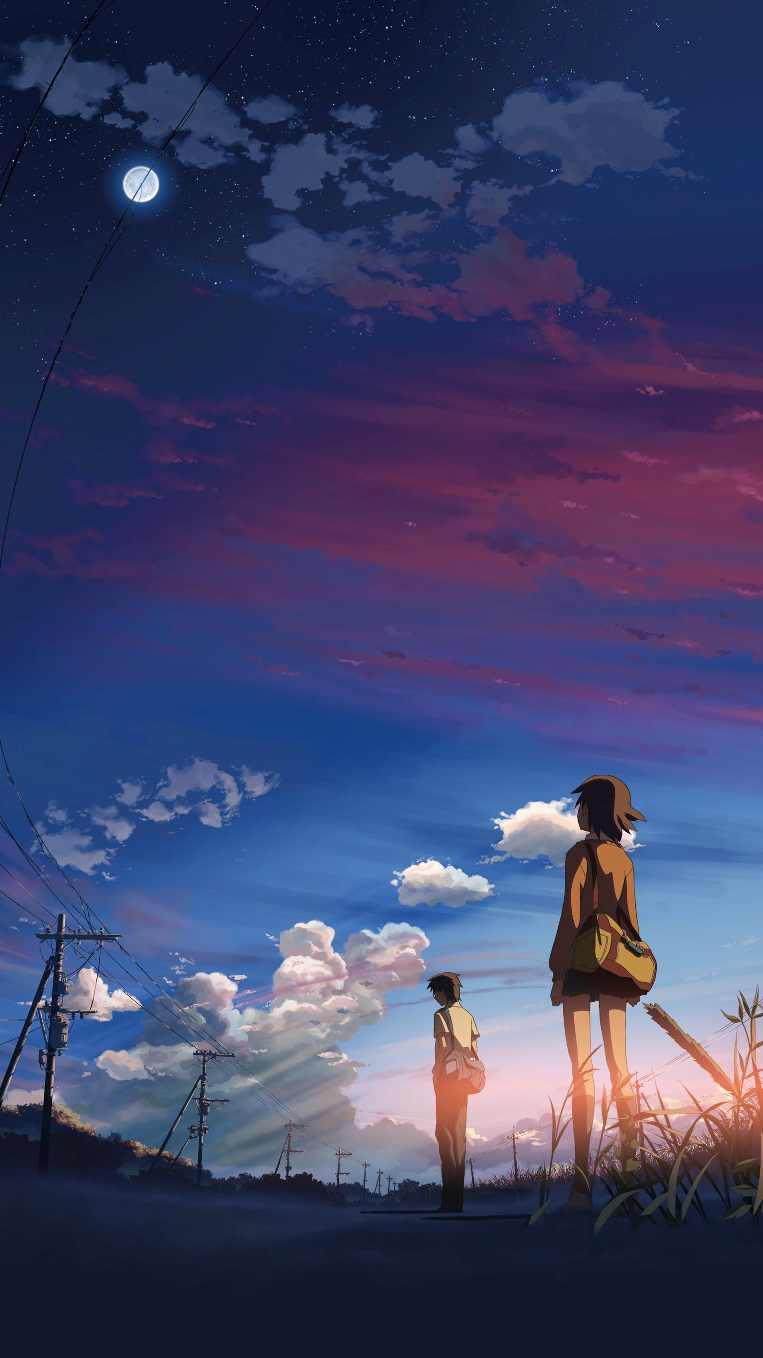 "Wallpaper for ""5 Centimeters per Second"" (2007)"