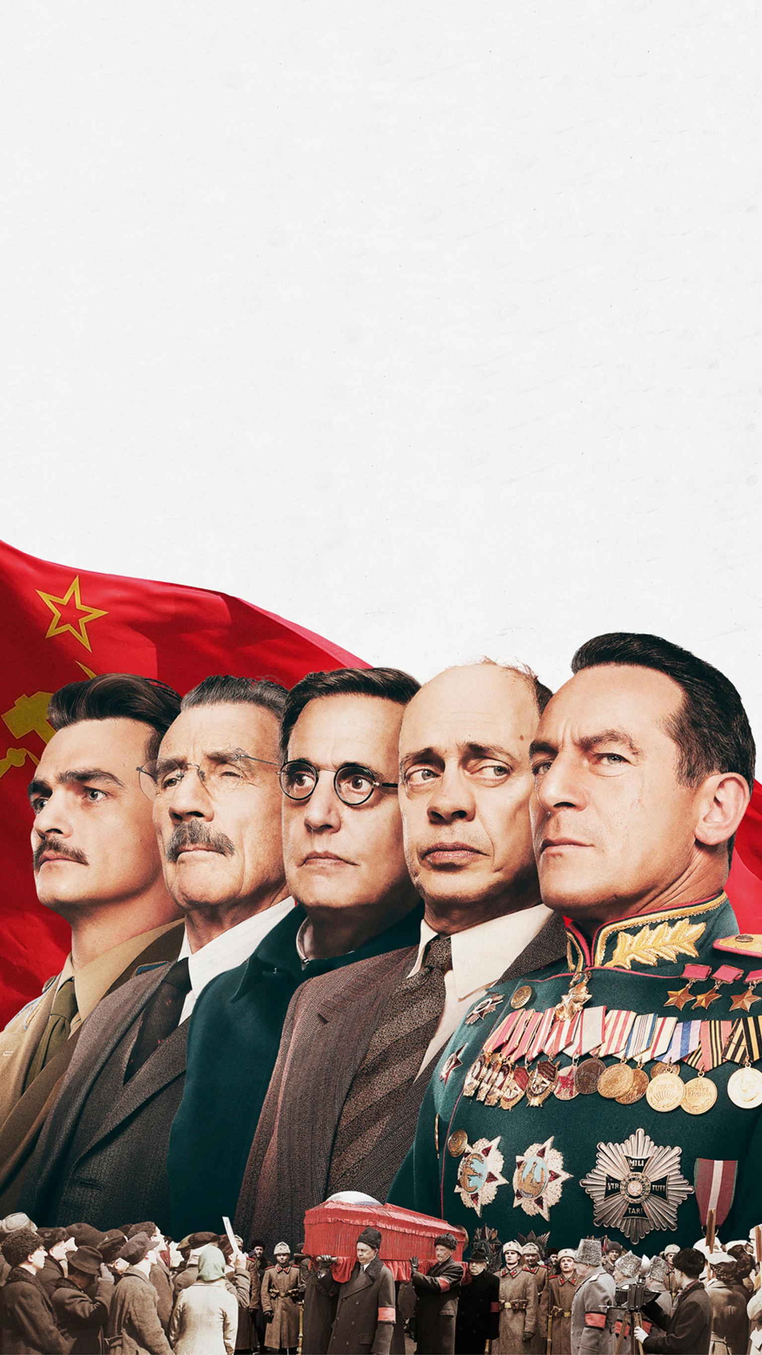 "Wallpaper for ""The Death of Stalin"" (2017)"