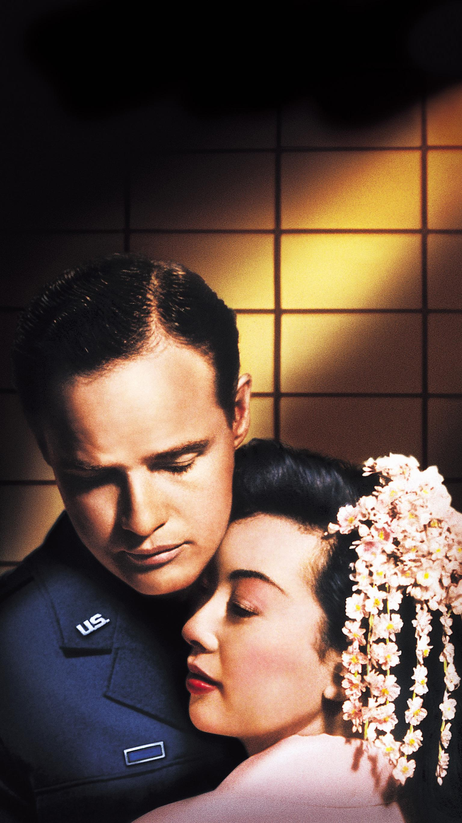 "Wallpaper for ""Sayonara"" (1957)"