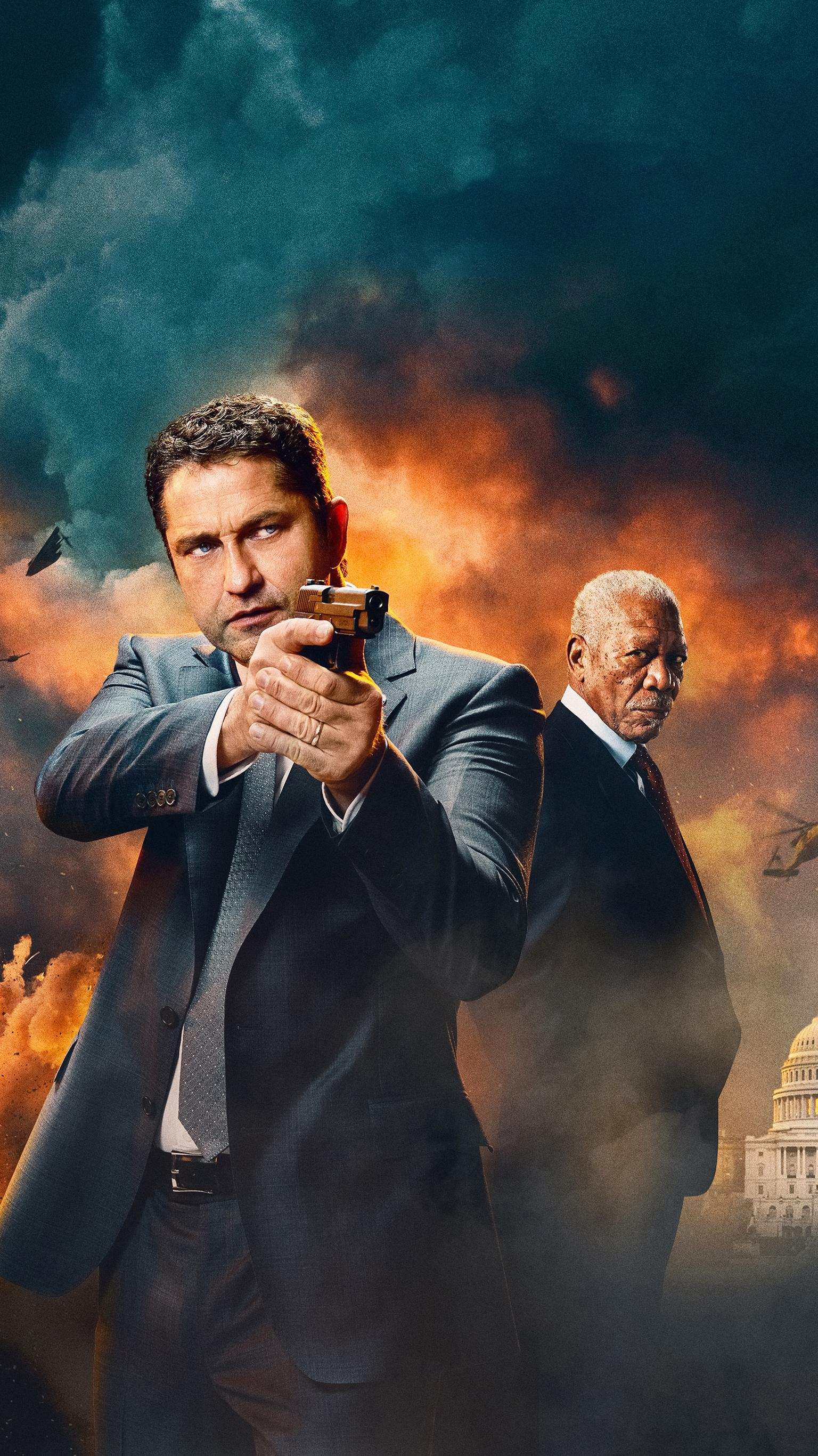 "Wallpaper for ""Angel Has Fallen"" (2019)"