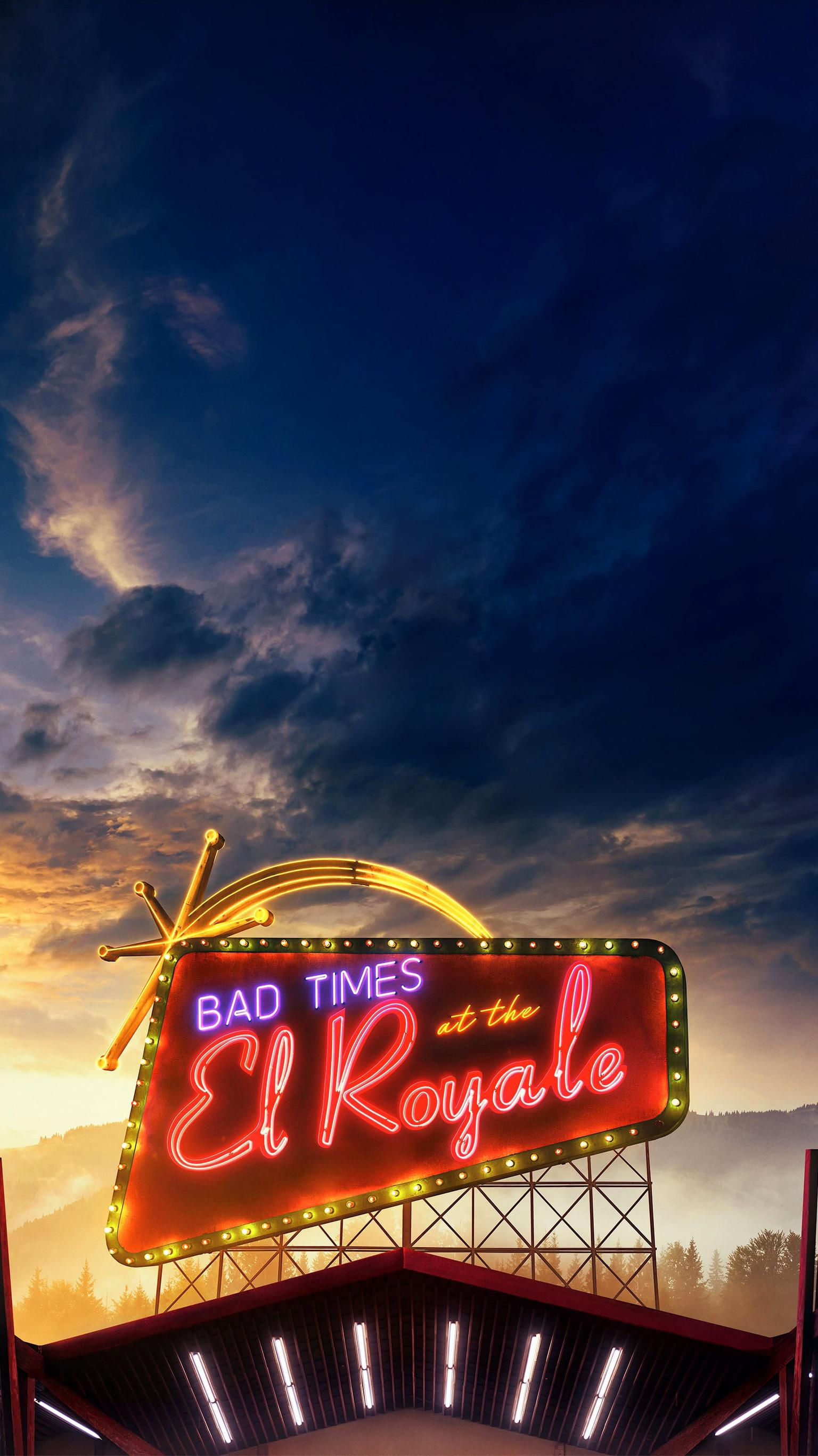"Wallpaper for ""Bad Times at the El Royale"" (2018)"
