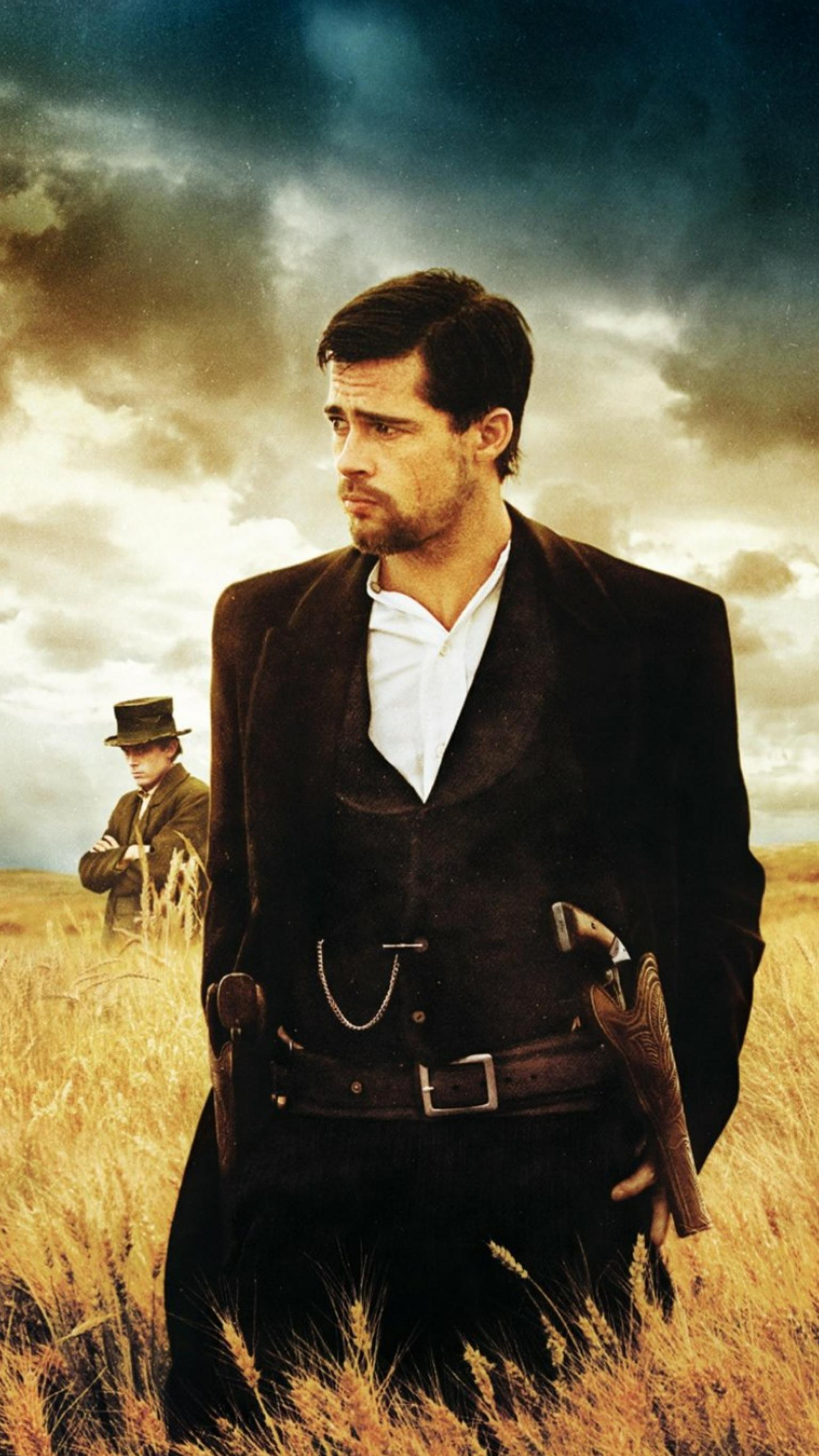 "Wallpaper for ""The Assassination of Jesse James by the Coward Robert Ford"" (2007)"