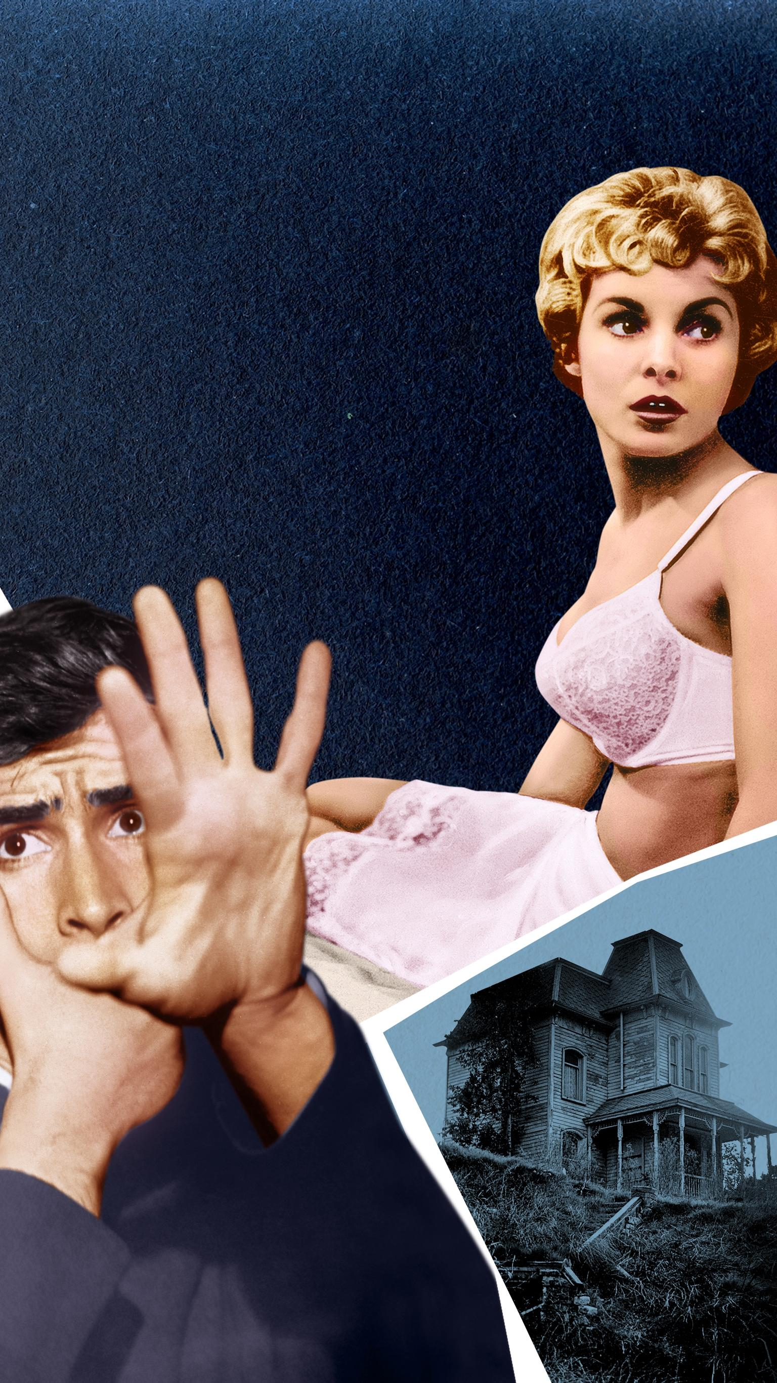 "Wallpaper for ""Psycho"" (1960)"