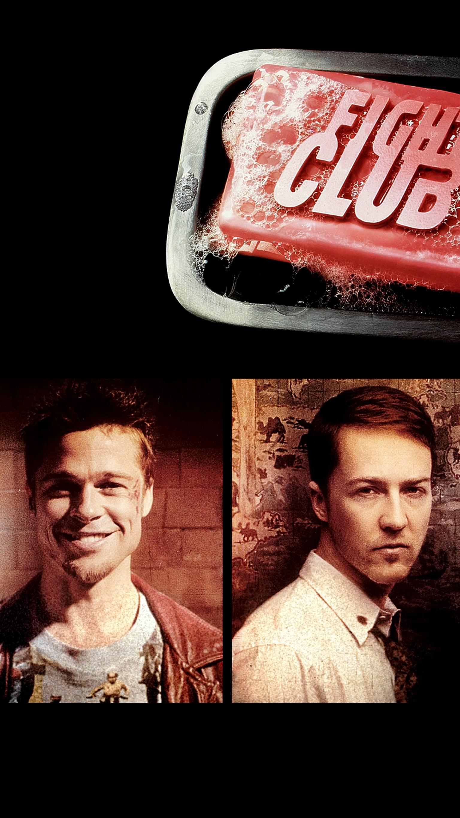 "Wallpaper for ""Fight Club"" (1999)"