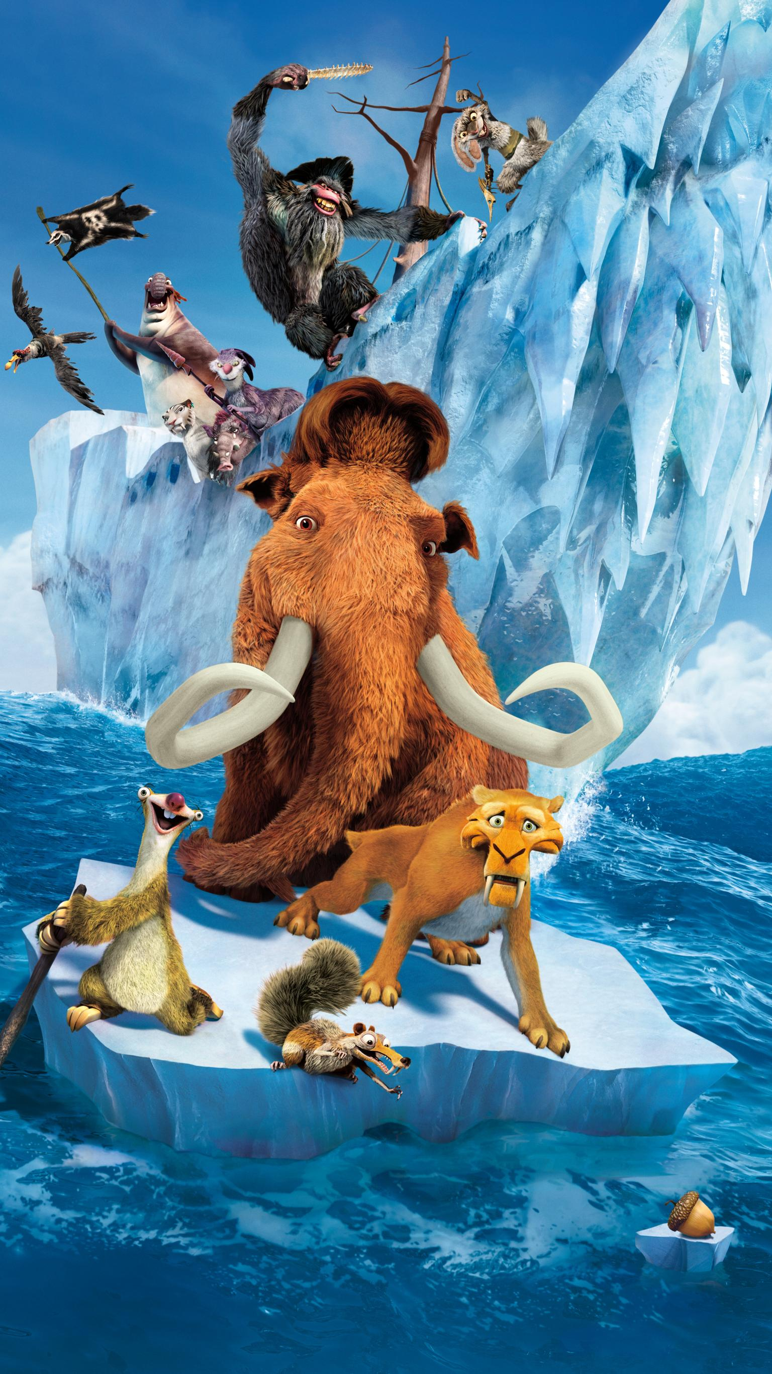 "Wallpaper for ""Ice Age: Continental Drift"" (2012)"