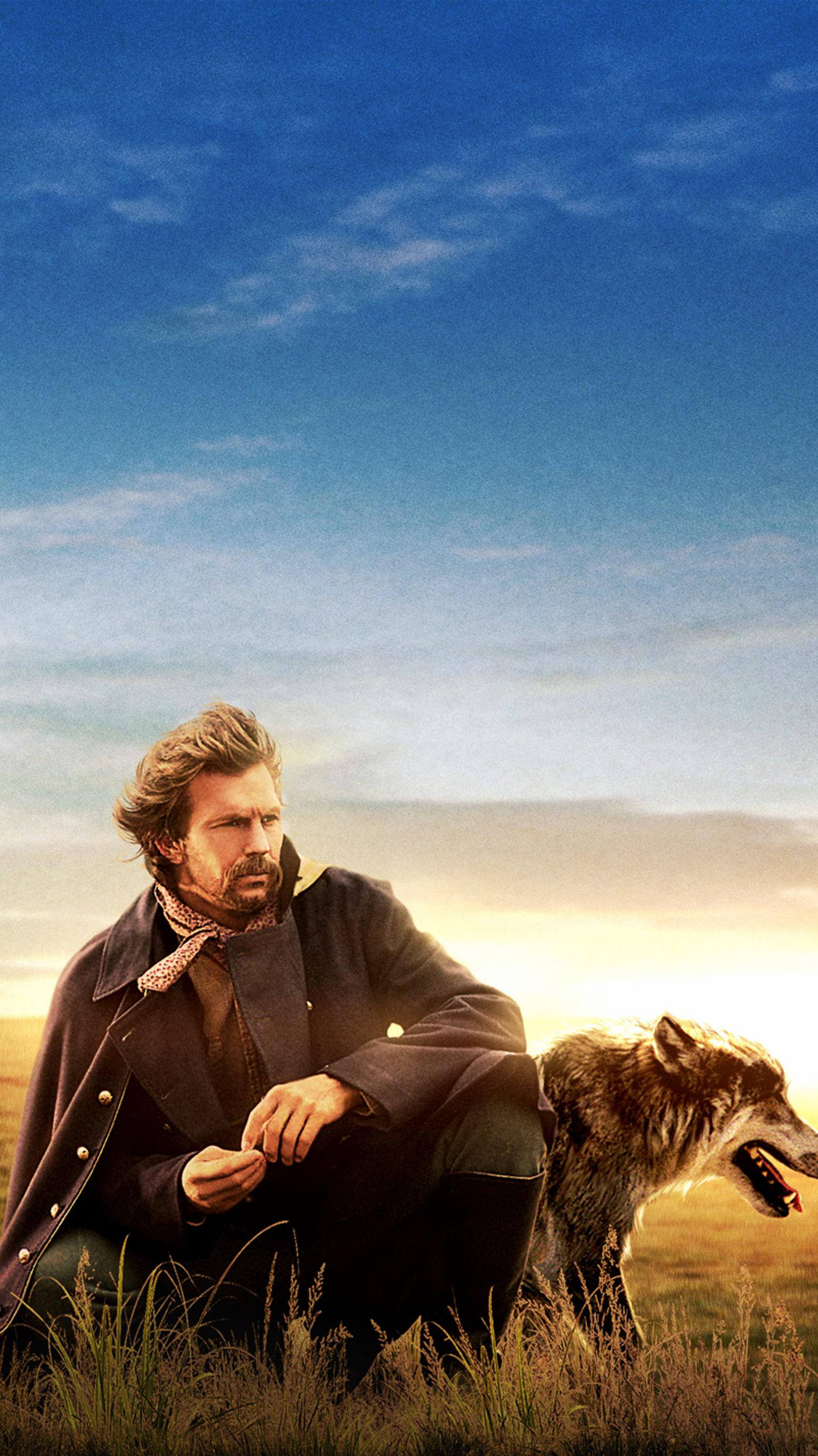 "Wallpaper for ""Dances with Wolves"" (1990)"