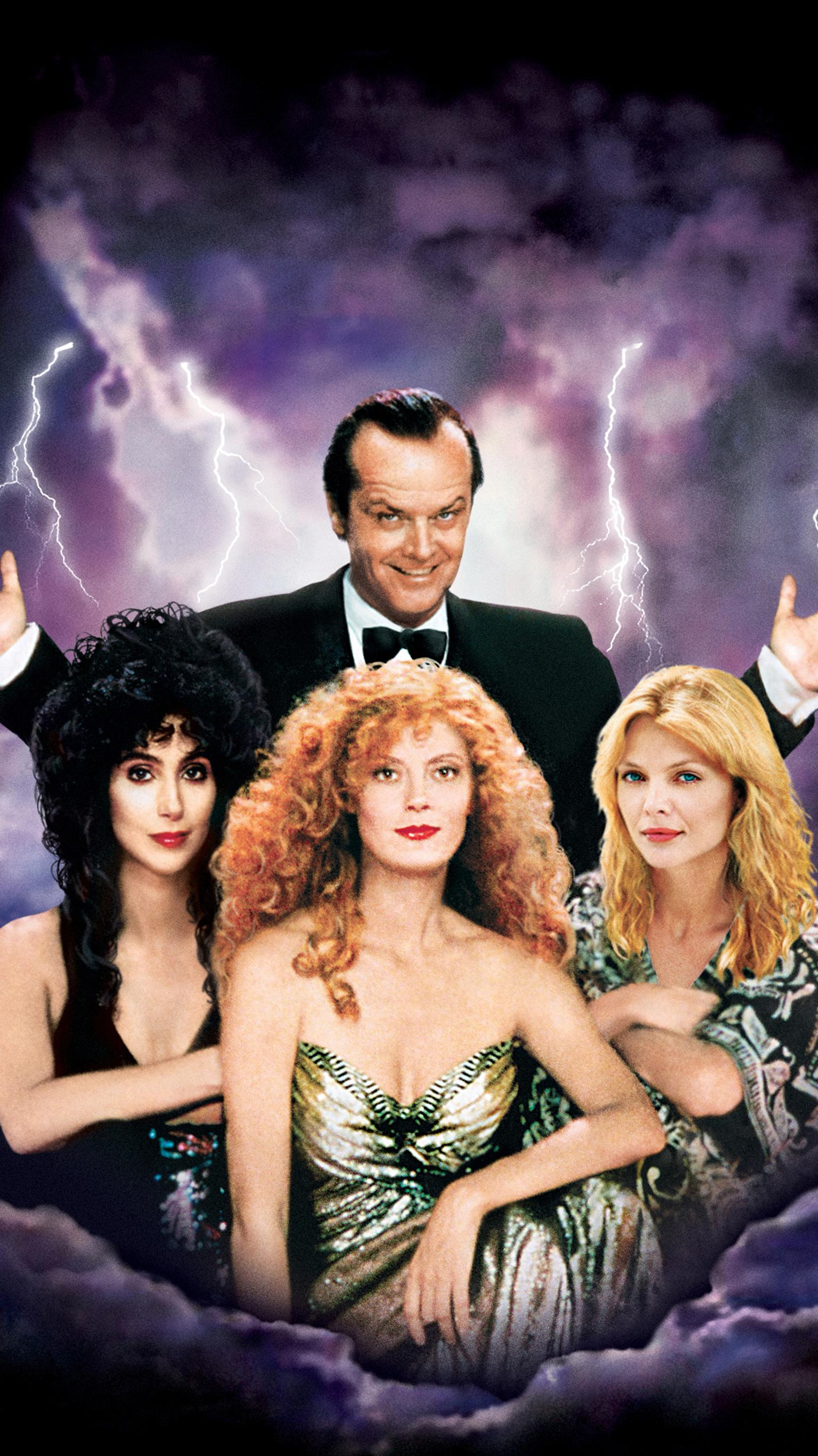 "Wallpaper for ""The Witches of Eastwick"" (1987)"