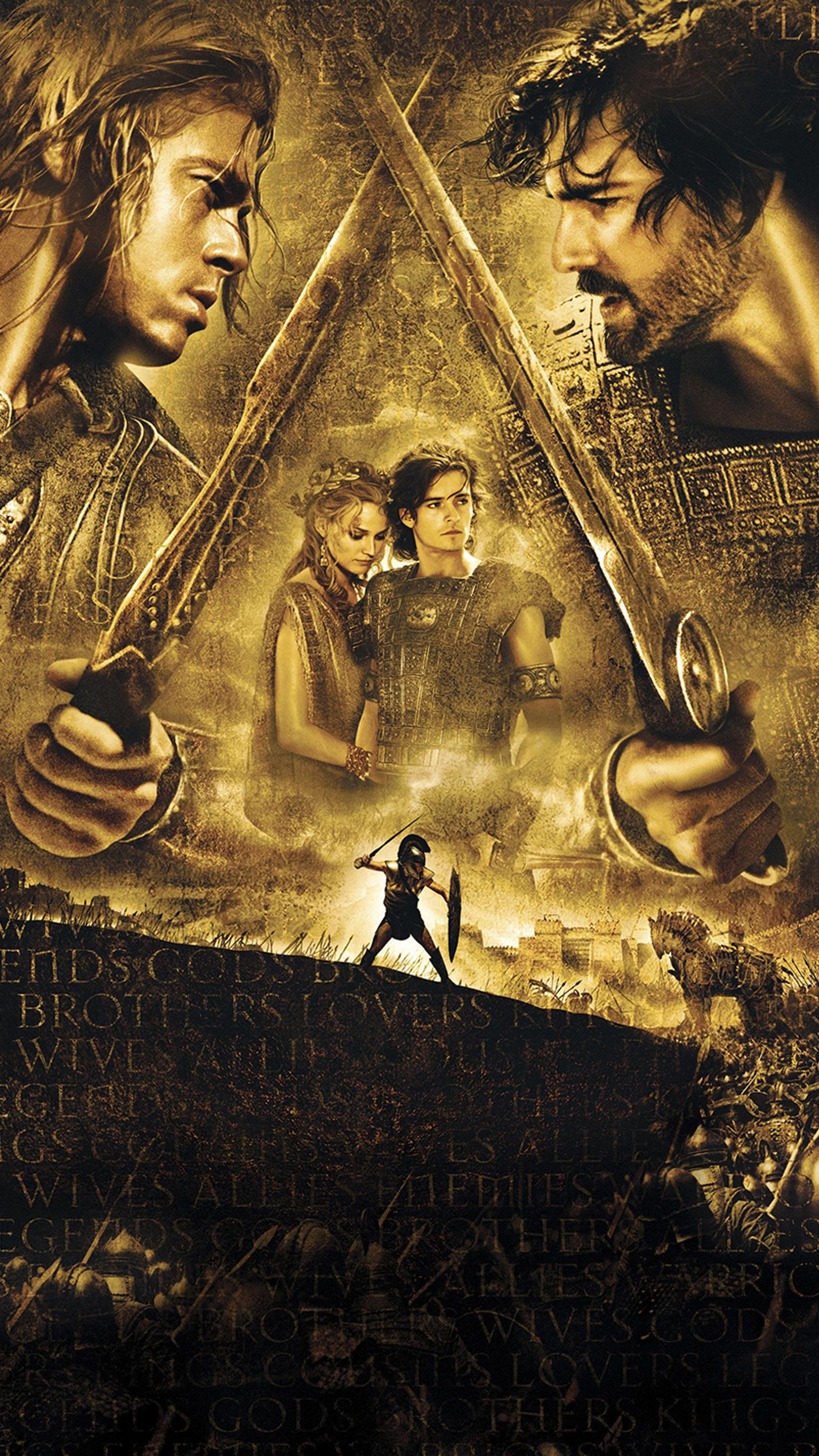 "Wallpaper for ""Troy"" (2004)"