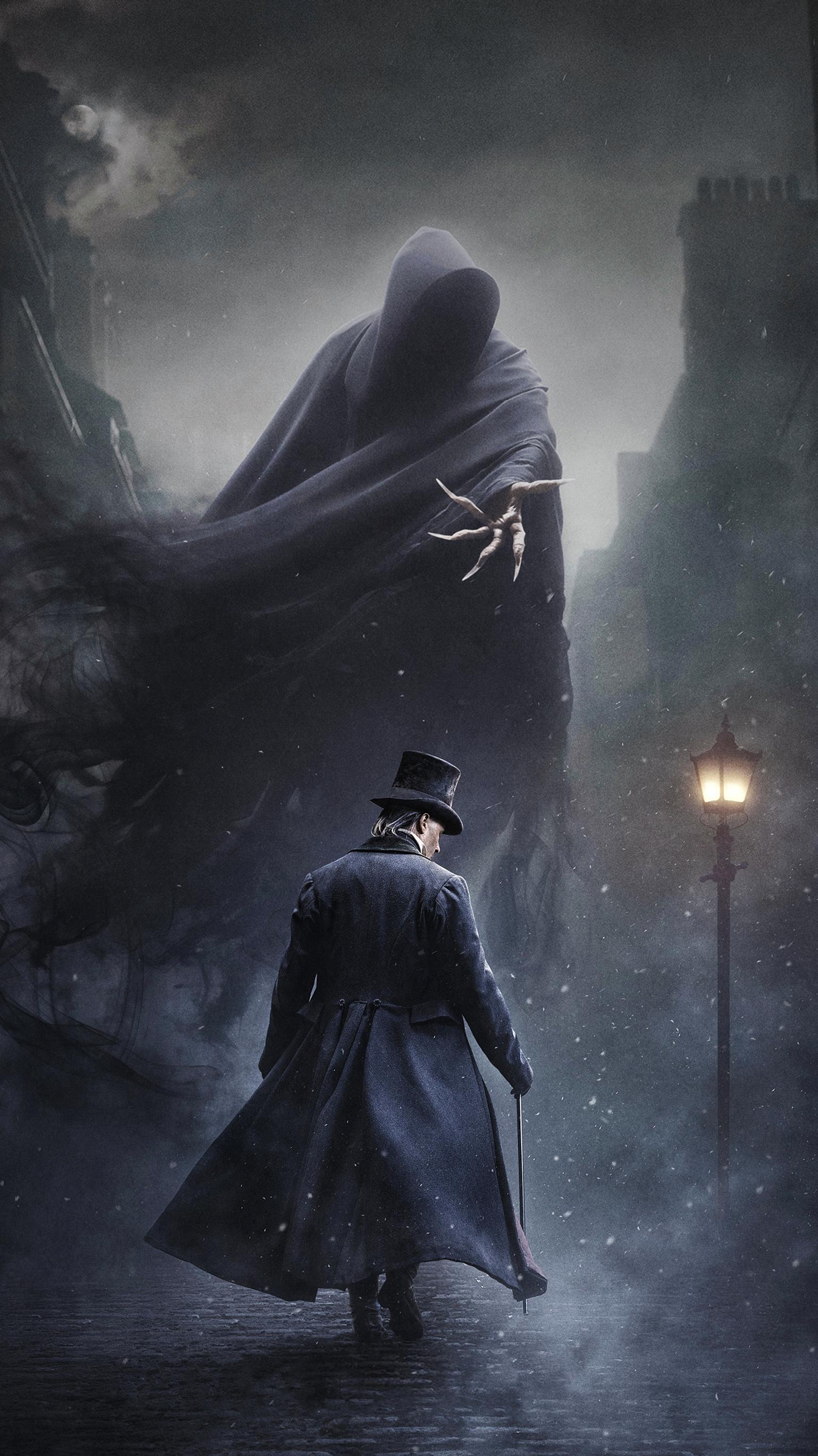 "Wallpaper for ""A Christmas Carol"" (2019)"